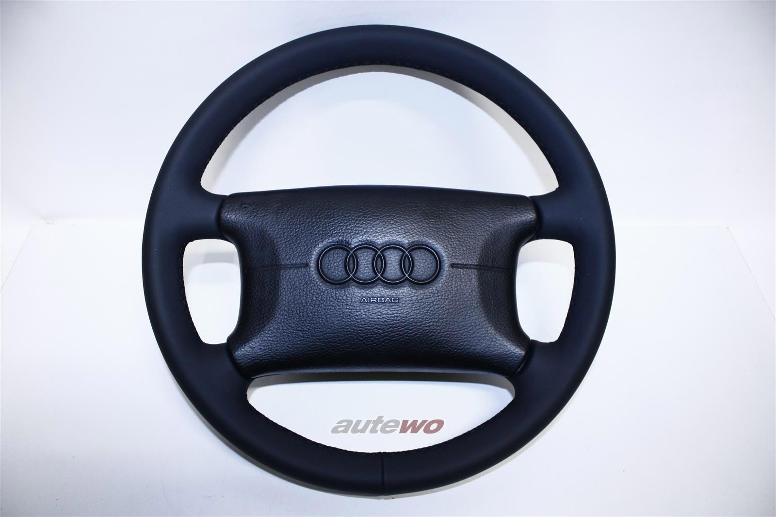 4D0419091D/F/J  Audi A4 B5/80 Cabrio 89/A6 C4/A8 D2 4-Speichen-Lederlenkrad neu