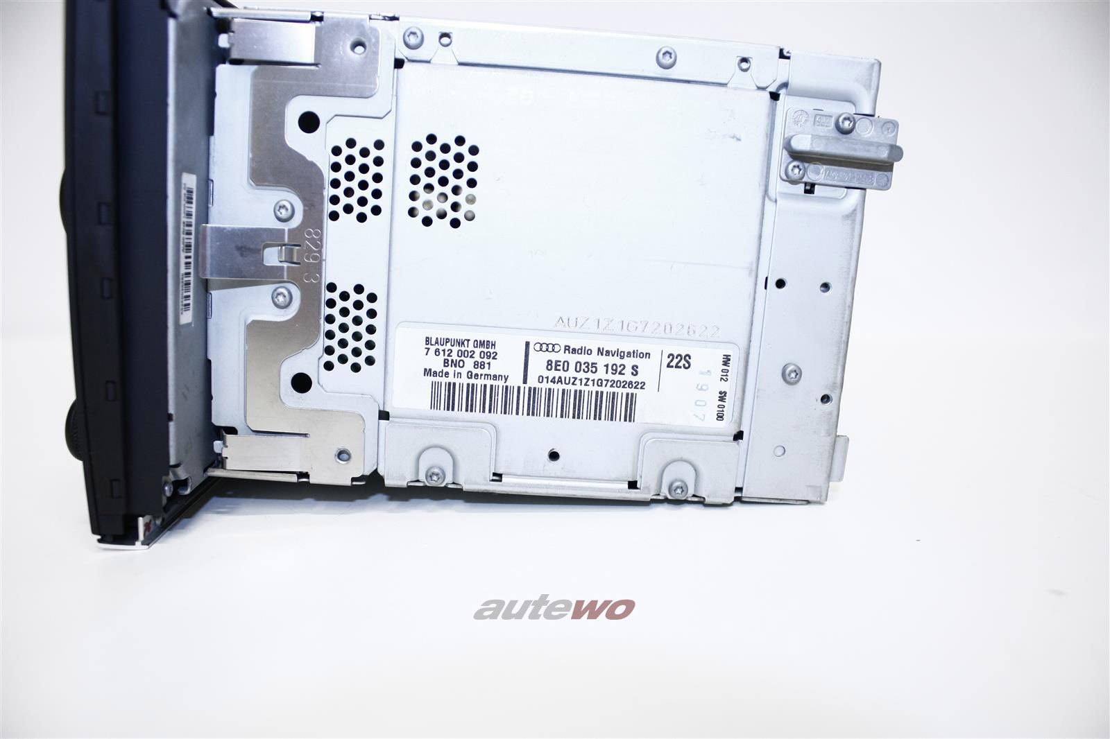 8E0035192S Audi A4/S4 8E Radio Navigation BNS 5.0 & Code
