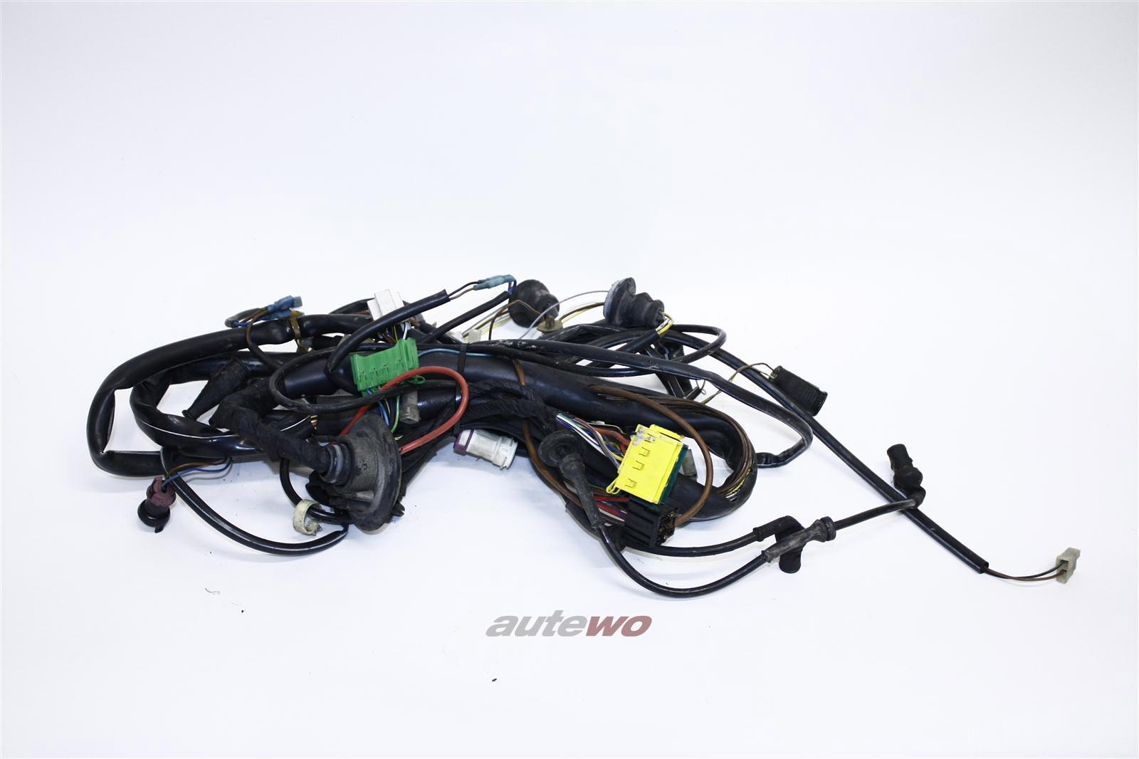 Audi 100 Typ 44 Kabelbaum Beleuchtung vorne