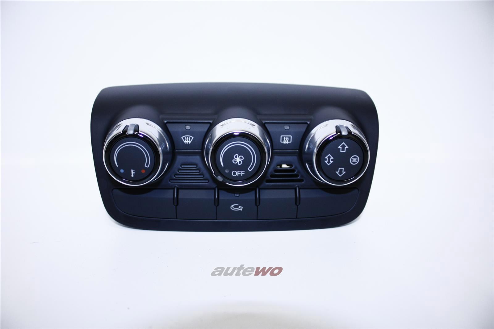 8J0819047F 8J0819047B NEU Audi TT 8J Klima Bedienteil schwarz