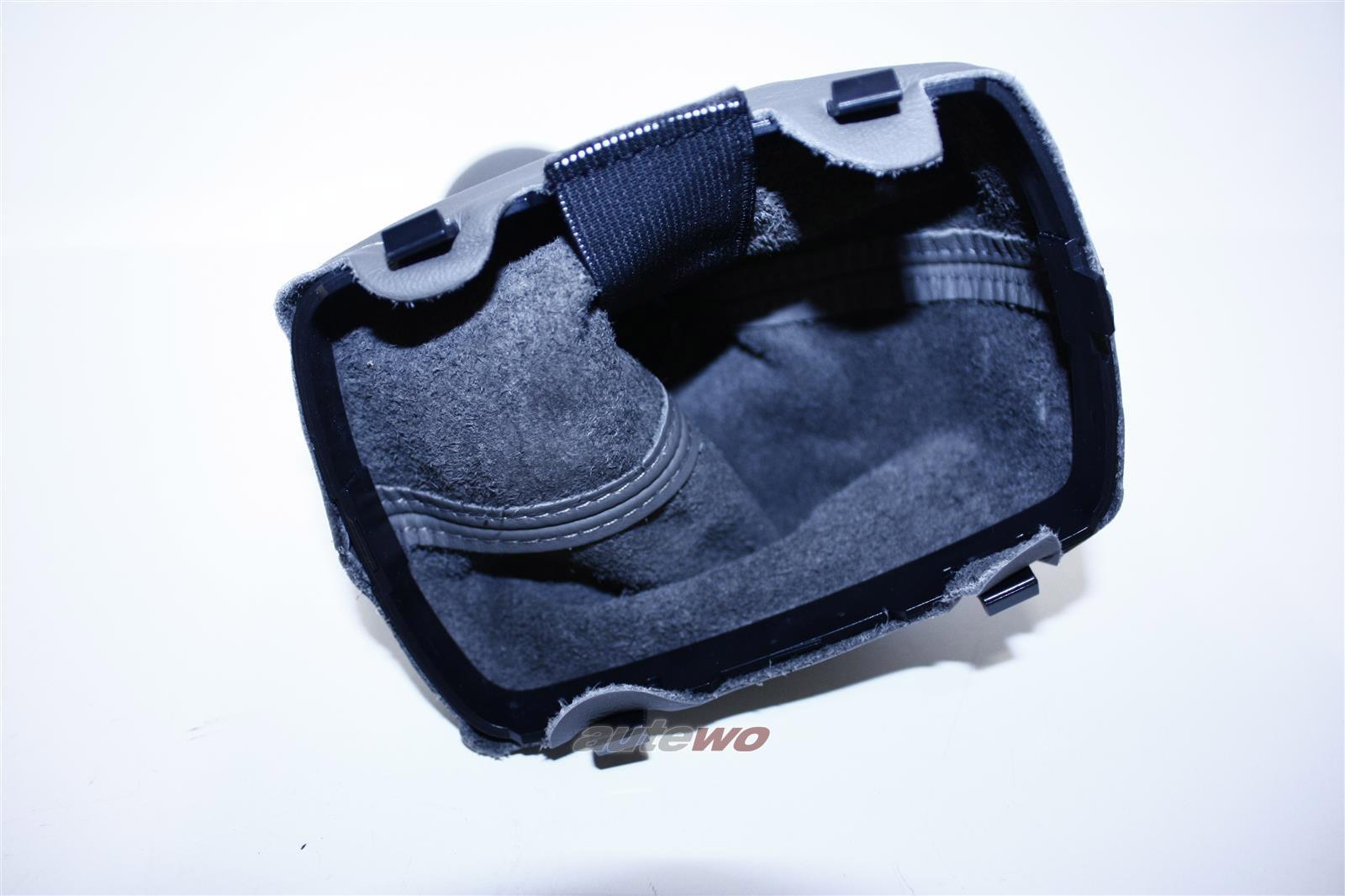 8L0863278AL 8L0863278S NEU Audi A3 8L Schalthebelknopf + Verkleidung Leder grau