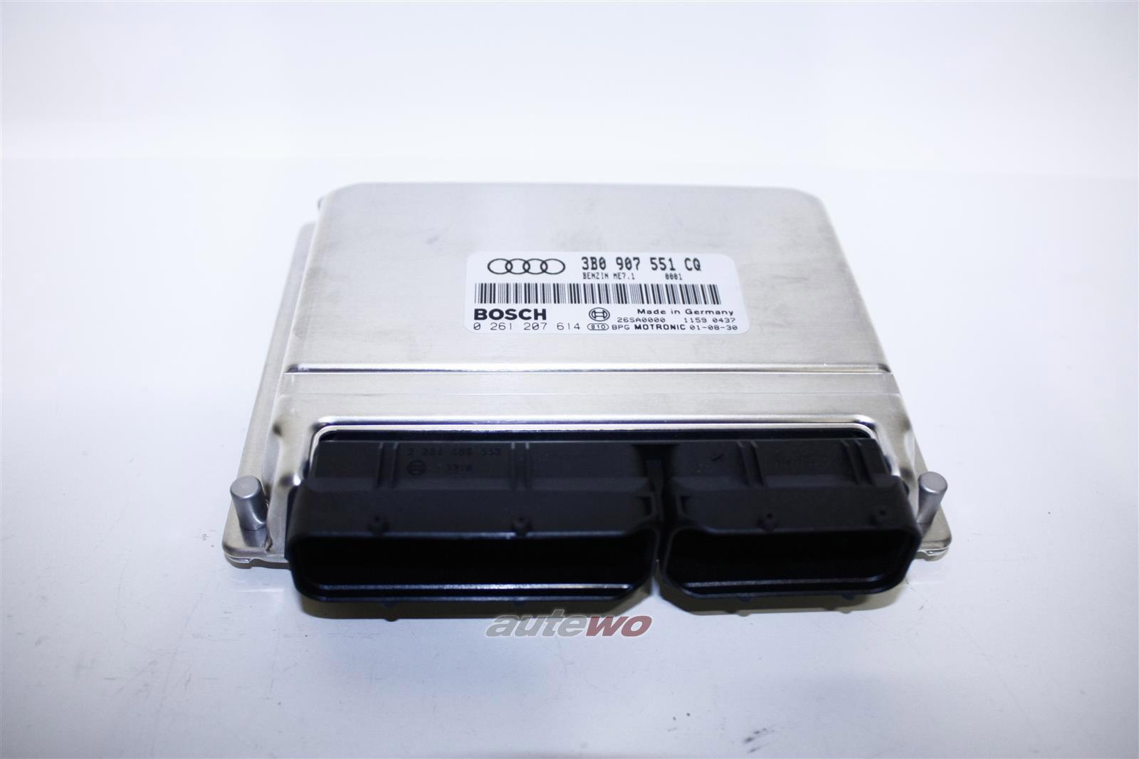 3B0997554CX 3B0997551EX NEU Audi A8 D2 2.8l 6 Zyl. AMX Motorsteuergerät