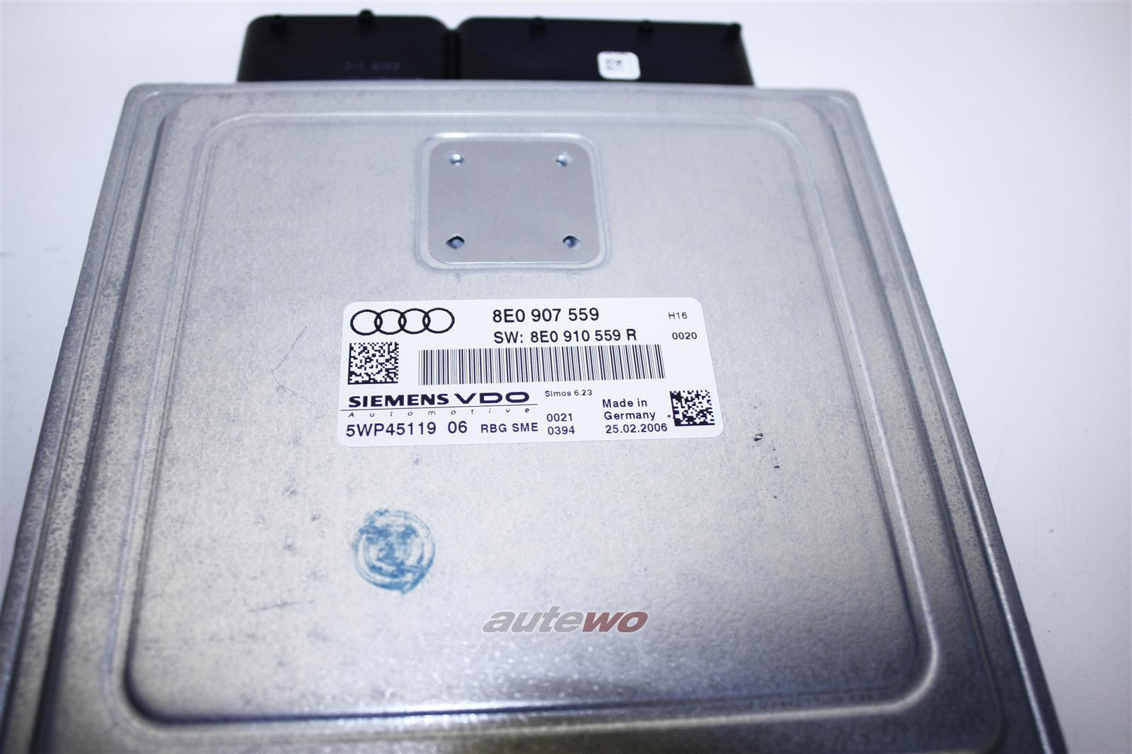 8E1910559AX 8E0910559RX NEU Audi A4 8E/A4 8H Cabrio 3.2l FSI Motorsteuergerät