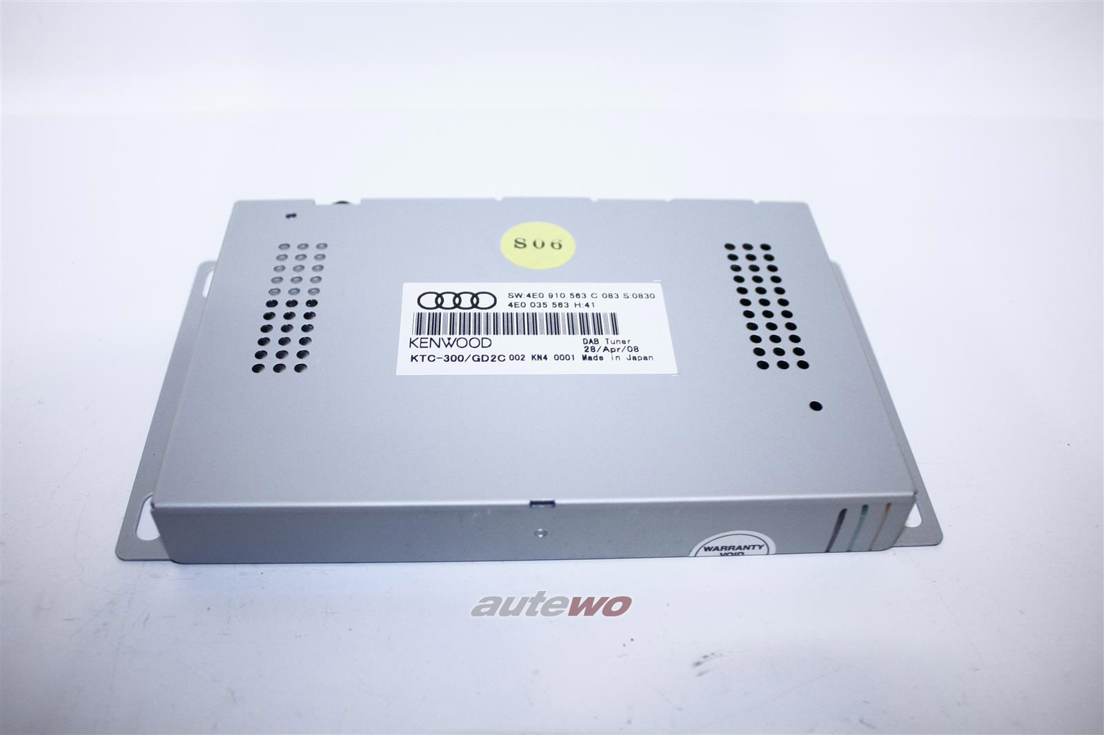 4E0910563C NEU Audi A4 8K/A5 8T/A6 4F/A8 D3/Q7 DAB-Tuner