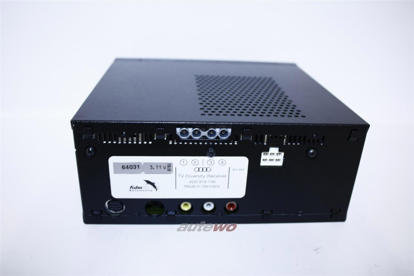 4D0919146X 4D0919146 NEU Audi A4/S4/RS4 B5/A6/S6 4B/A8/S8 D2 TV-Tuner