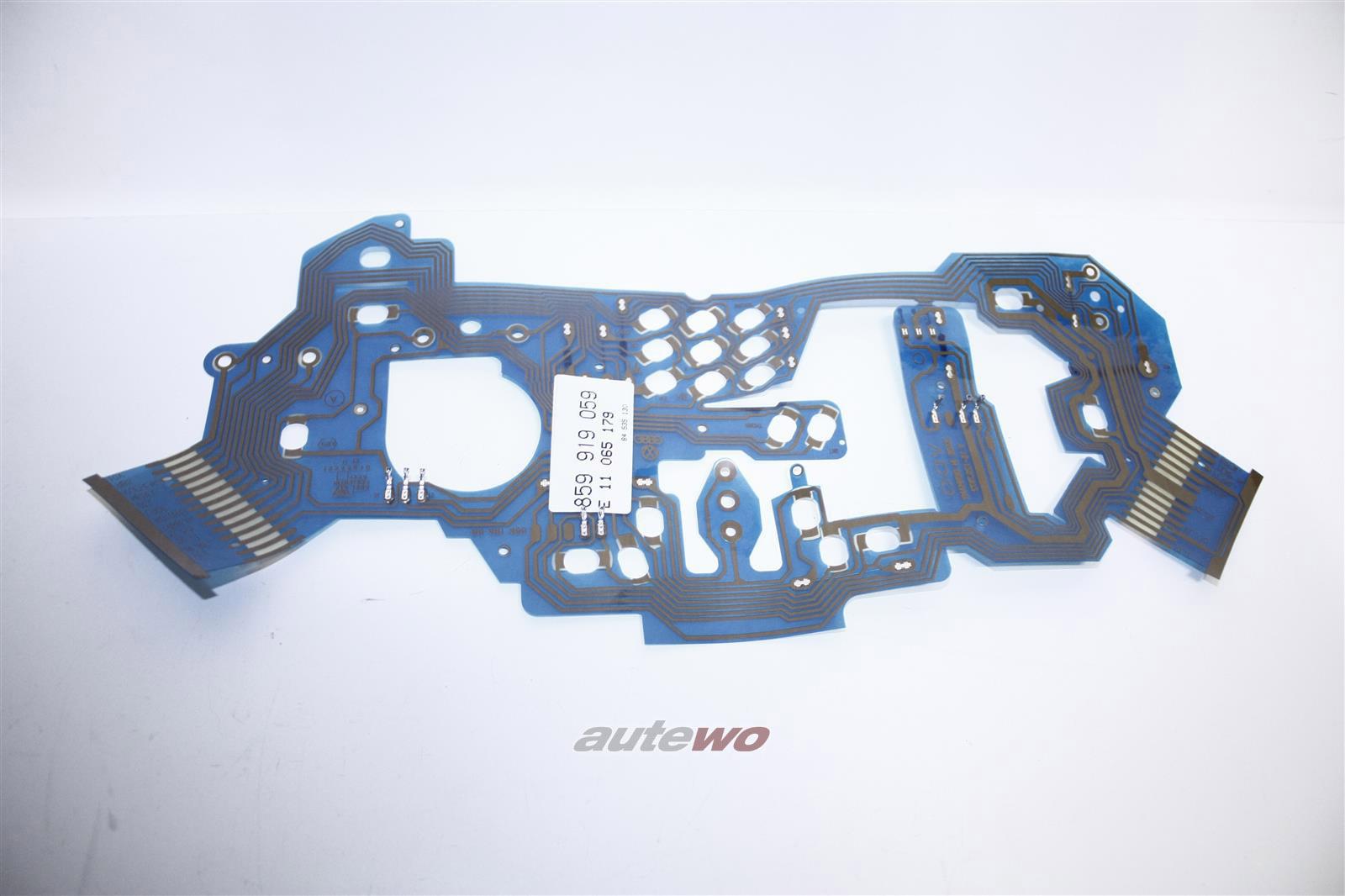 859919059 NEU Audi SportQuattro 2.2l Leiterfolie Kombiinstrument