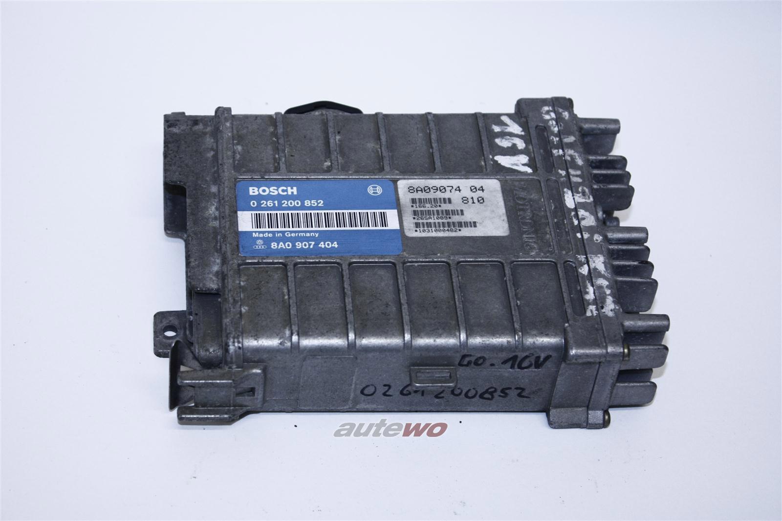 Audi/VW Passat 2.0l 16V 136PS 9A Motorsteuergerät 8A0907404 8A0997404AX
