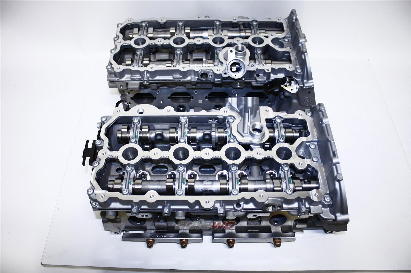 079103063/064BN/CA/CE/BG NEU Audi A6/S6/Allroad 4F/A8 D3 4.2l SET Zylinderköpfe