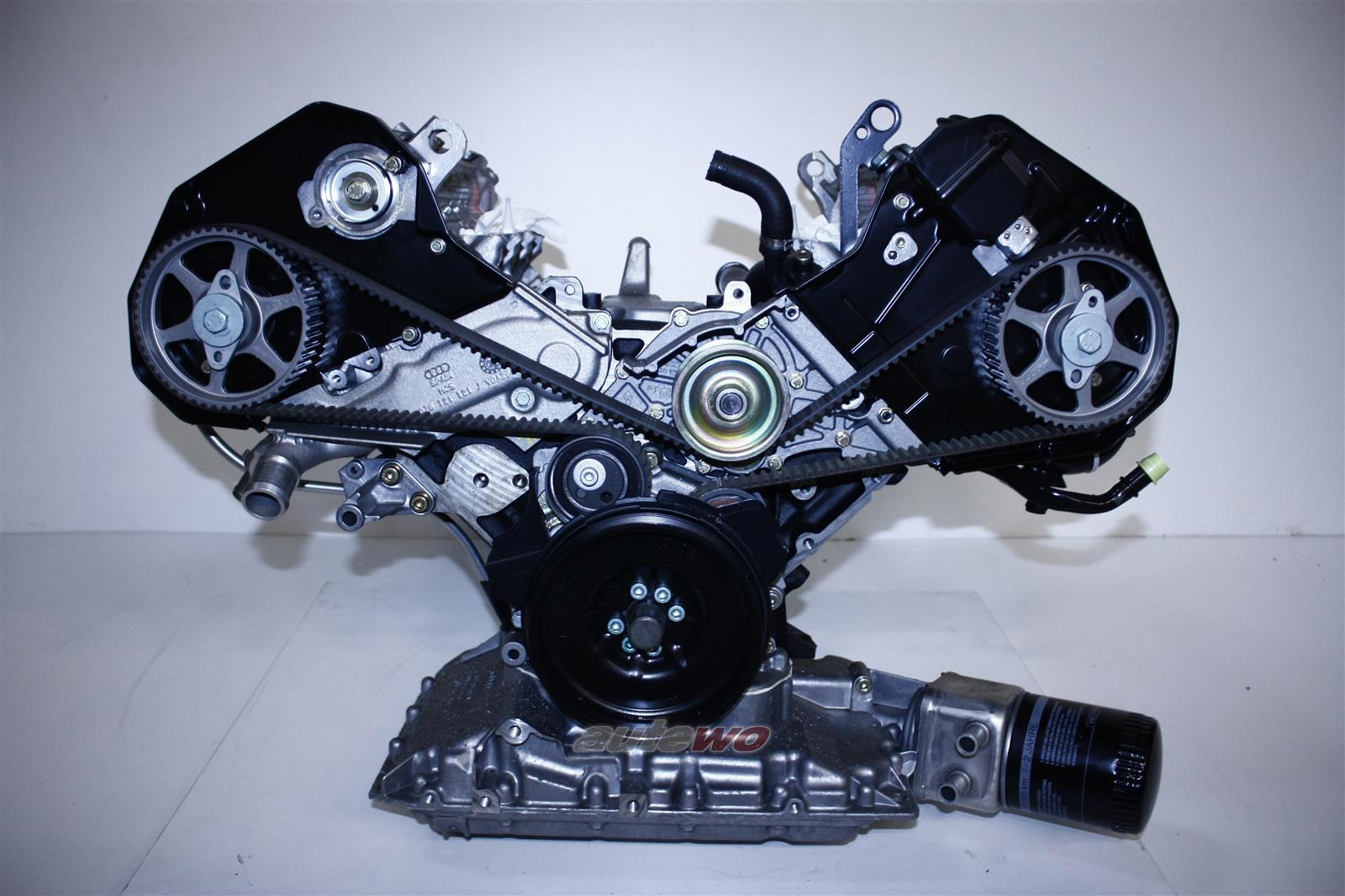 078100032MX/NX  NEU Audi A4 B5/A6 4B 2.4l 6 Zylinder APS Rumpfmotor