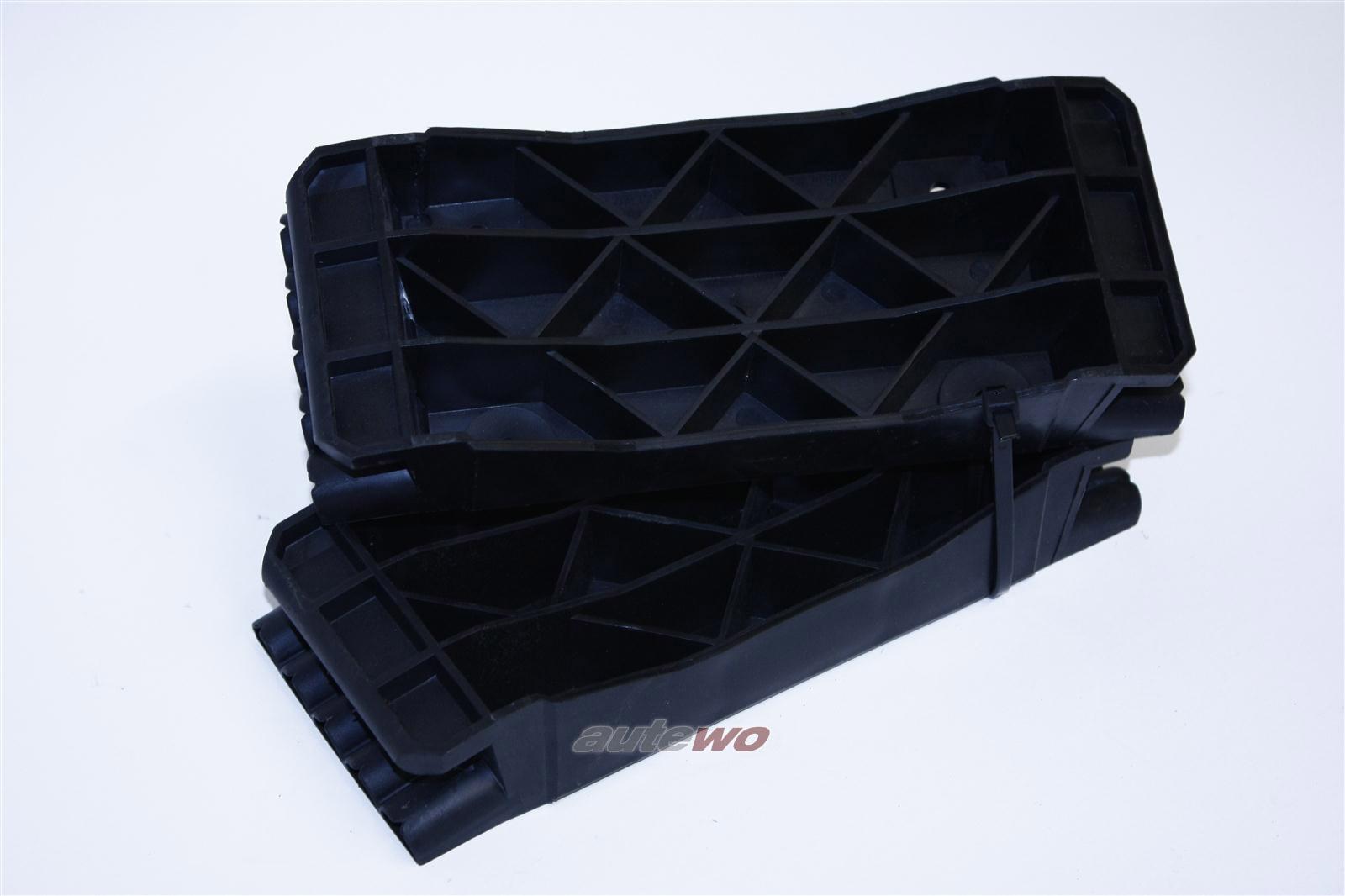 Audi V8 D11 Halter Führungsstück Stoßstange Vo. / Hi.L&R 441807253B