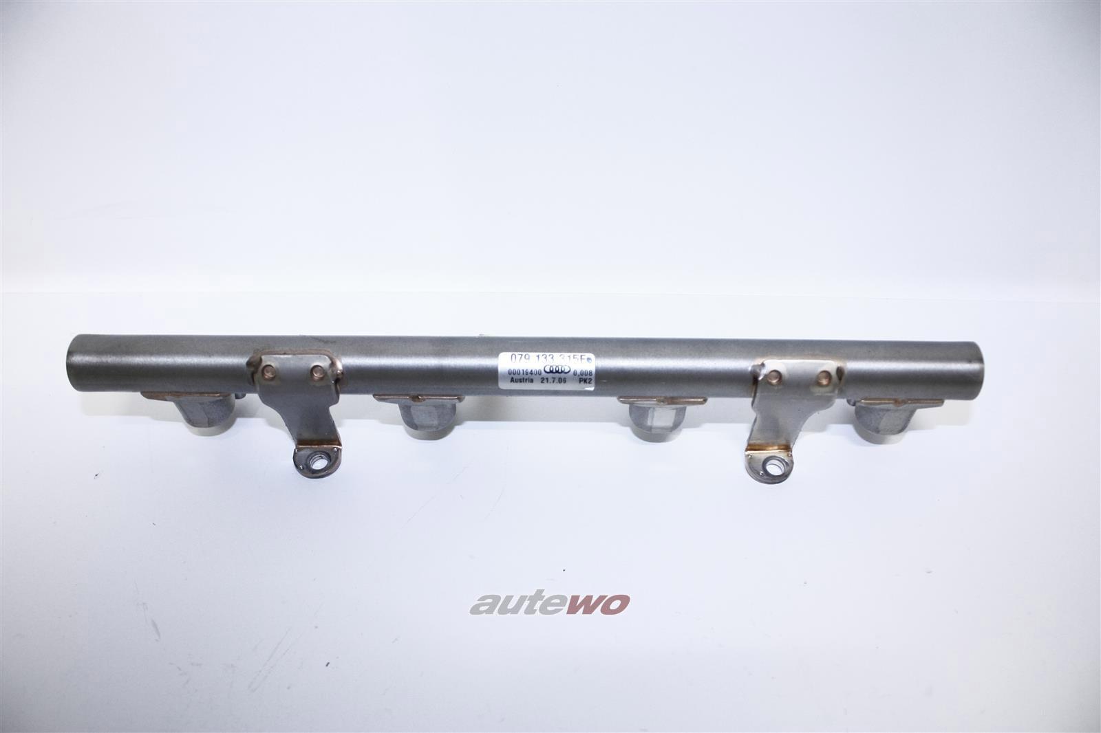 079133315AP/BC/E NEU Audi/VW A5/S5 8T/A6/S6 4F/A8 D3 4.2l Kraftstoffverteiler