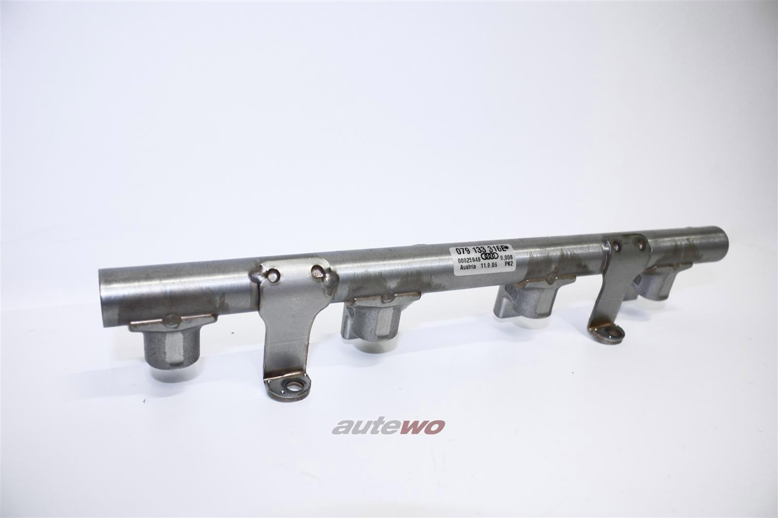 079133316E NEU Audi/VW A5/S5 8T/A6/S6 4F/A8 D3 4.2l Kraftstoffverteiler Rechts