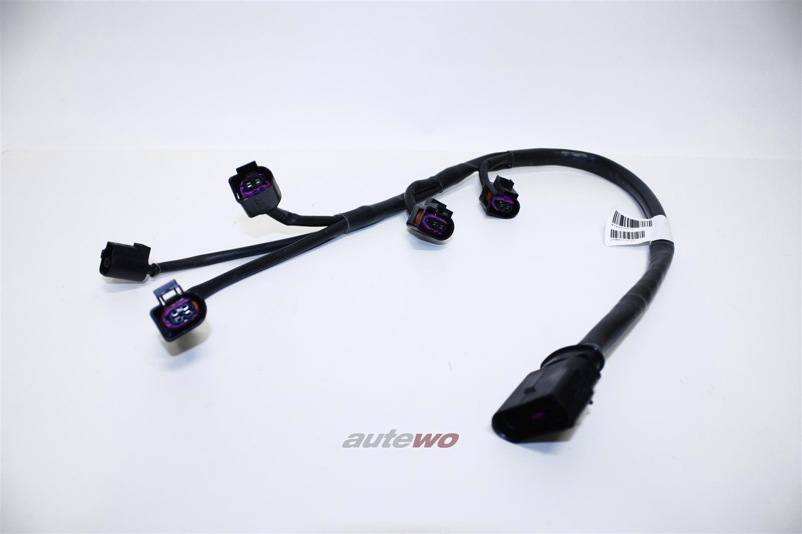 079971627C NEU Audi/VW A5/S5 8T/A6/S6 4F/A8 D3 4.2l Kabel Einspritzventile