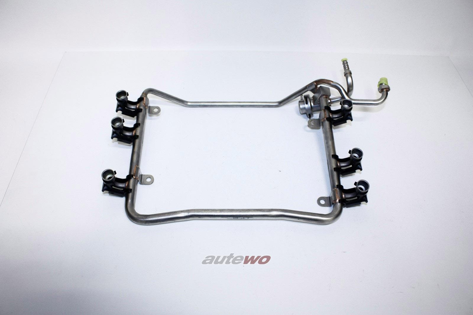 078133681Q NEU Audi A4 B5/A8 D2 2.6-2.8l Einspritzleiste + Benzindruckregler
