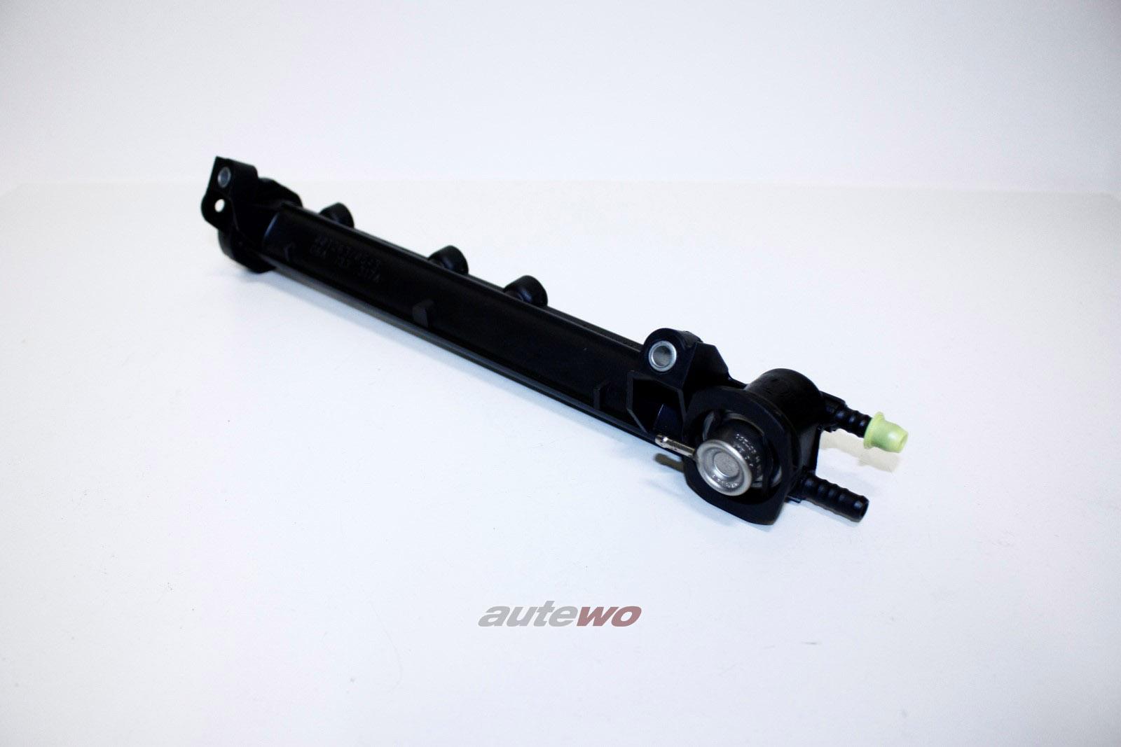 06A133317A NEU Audi/VW A3 8L 1.6l Einspritzleiste + Benzindruckregler