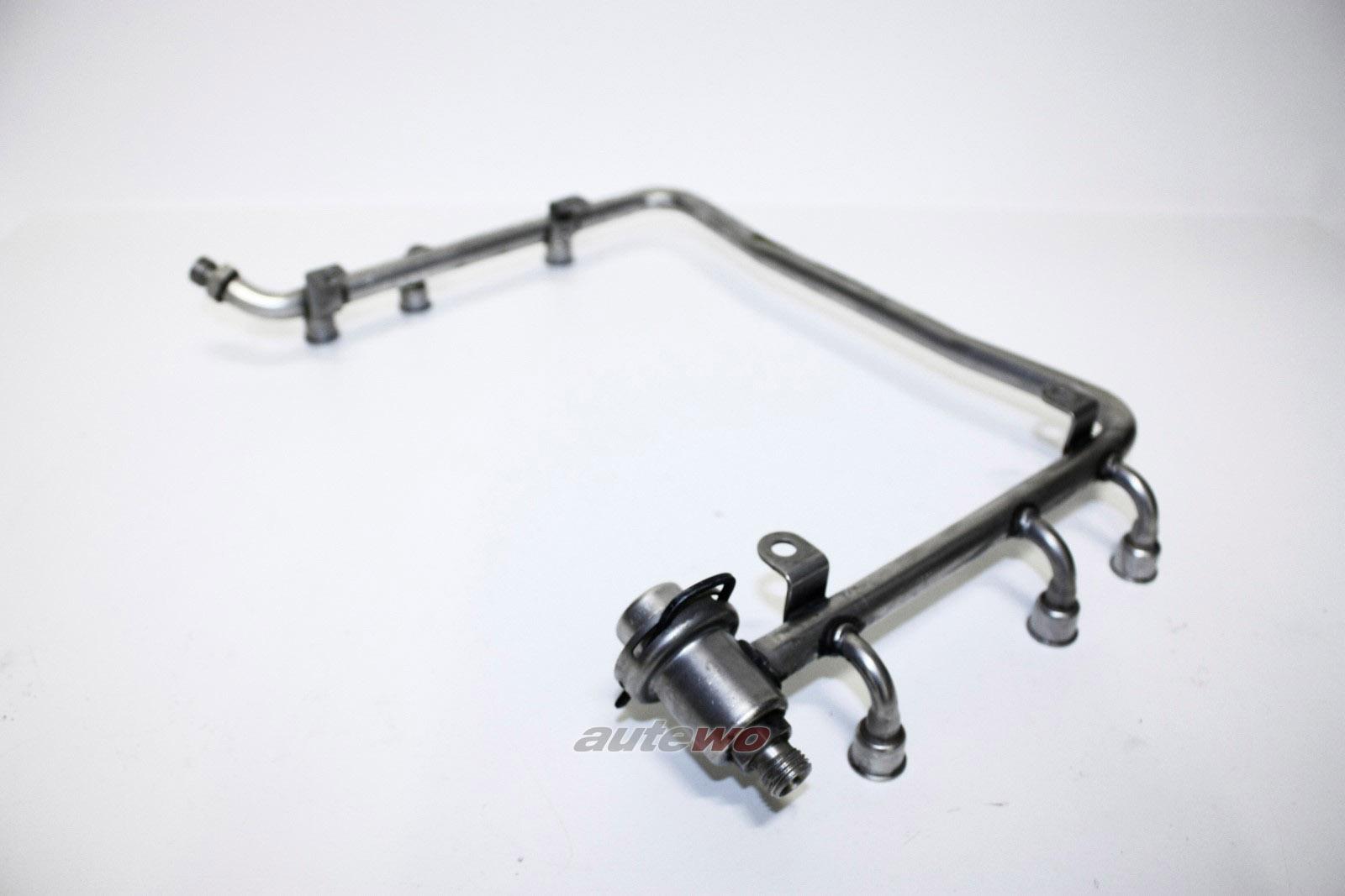 078133681N Audi 100/A6 C4 2.6-2.8l Einspritzleiste + Benzindruckregler