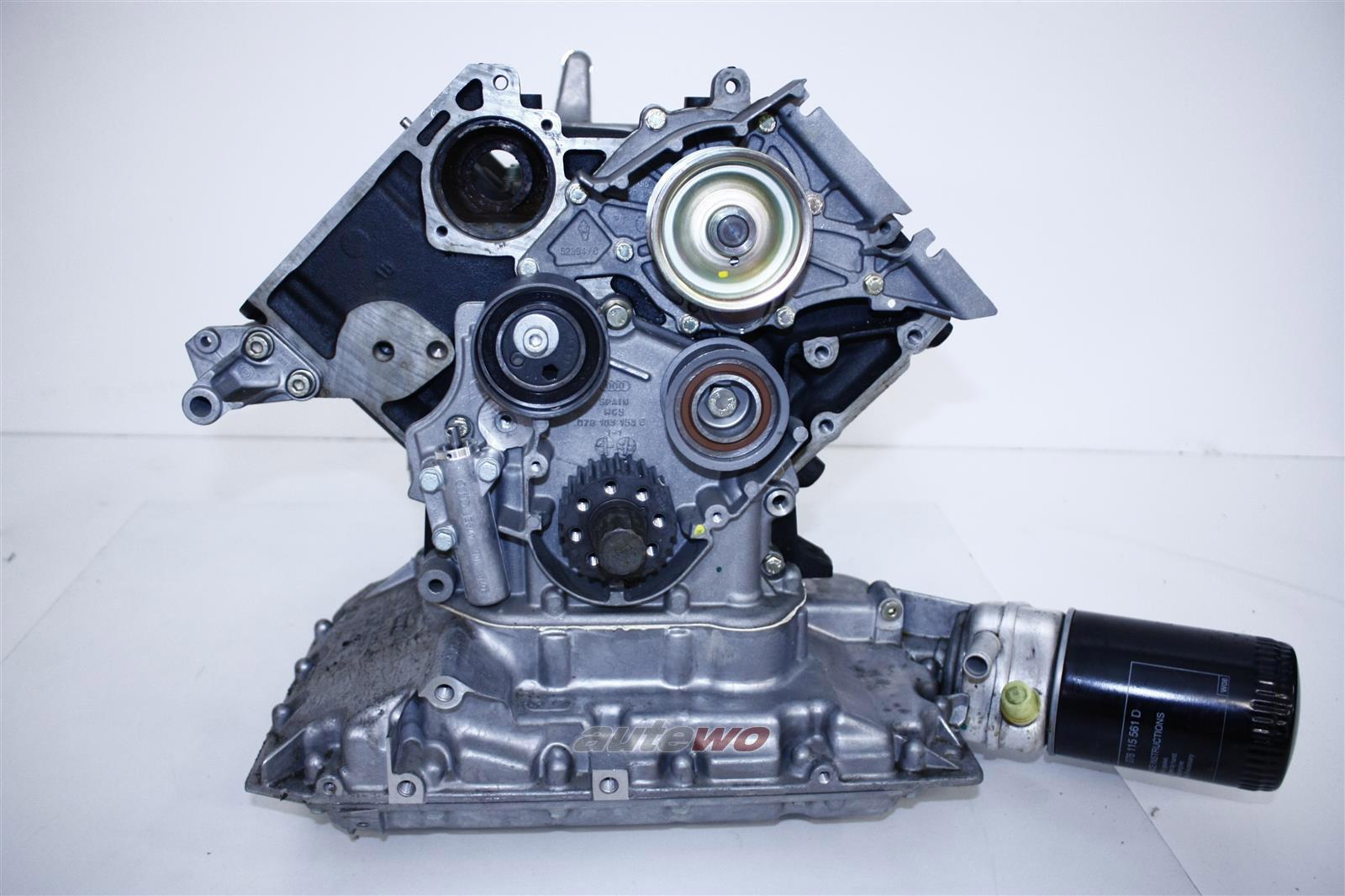 078103101BB NEU Audi A4 B5/A6 4B/A8 D2 2.8l 6 Zyl. ACK/ALG/APR/AQD Teilmotor