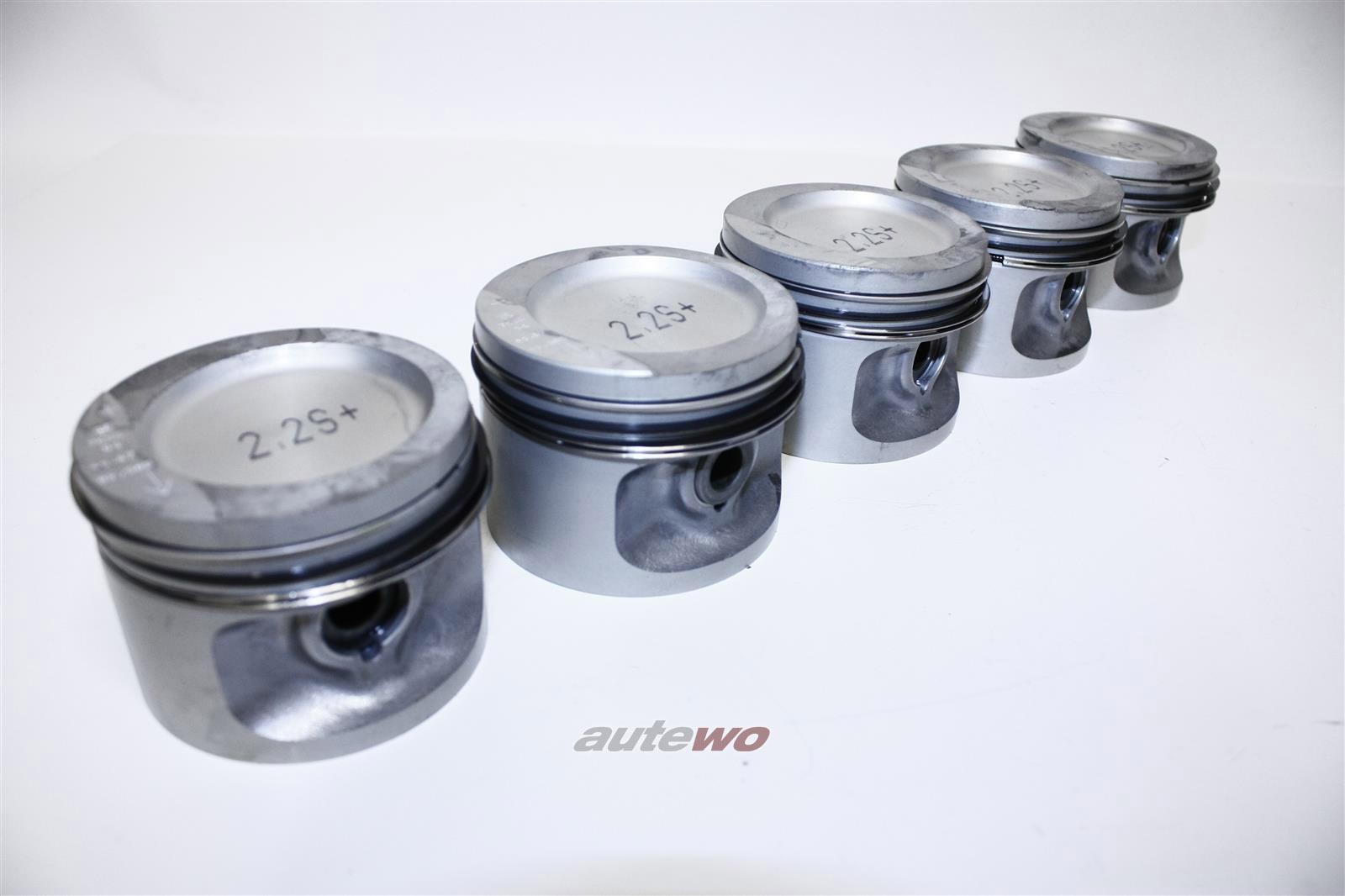 034107065C NEU Audi/VW 90/Coupe 81/85/100 44 2.2l KU/HX/KV Satz Kolben 81mm