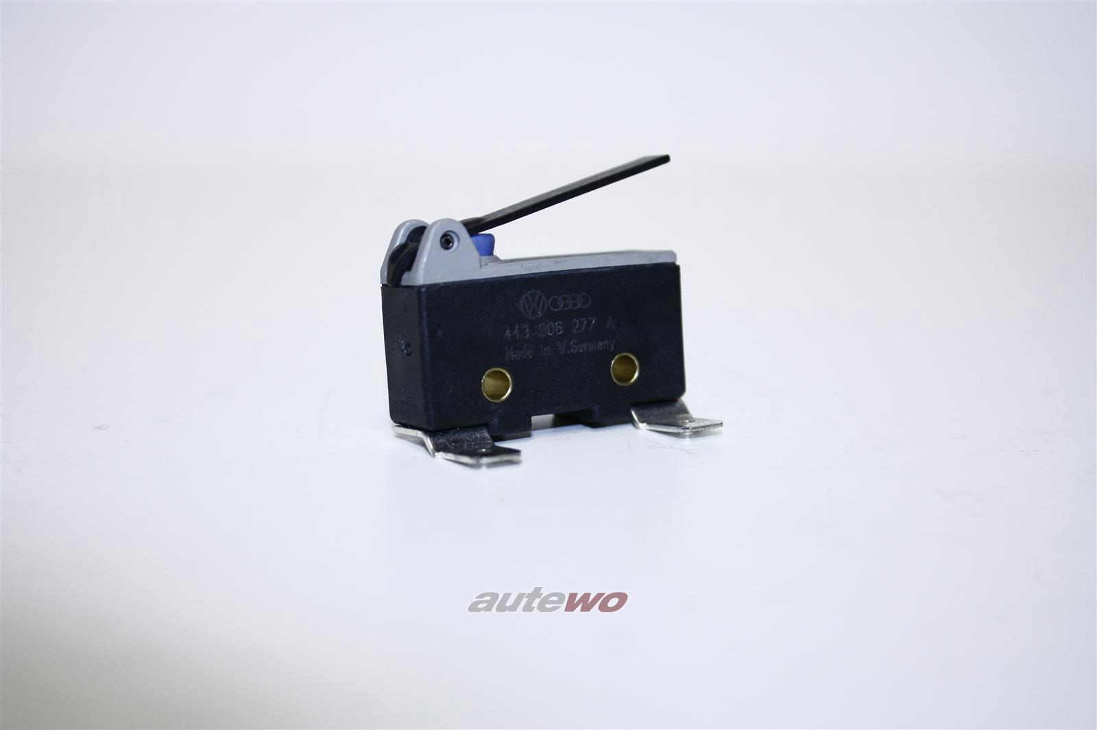 443906277A NEU Audi 200 Typ 44 2.2l 182PS KG/JY/WK Drosselklappenschalter