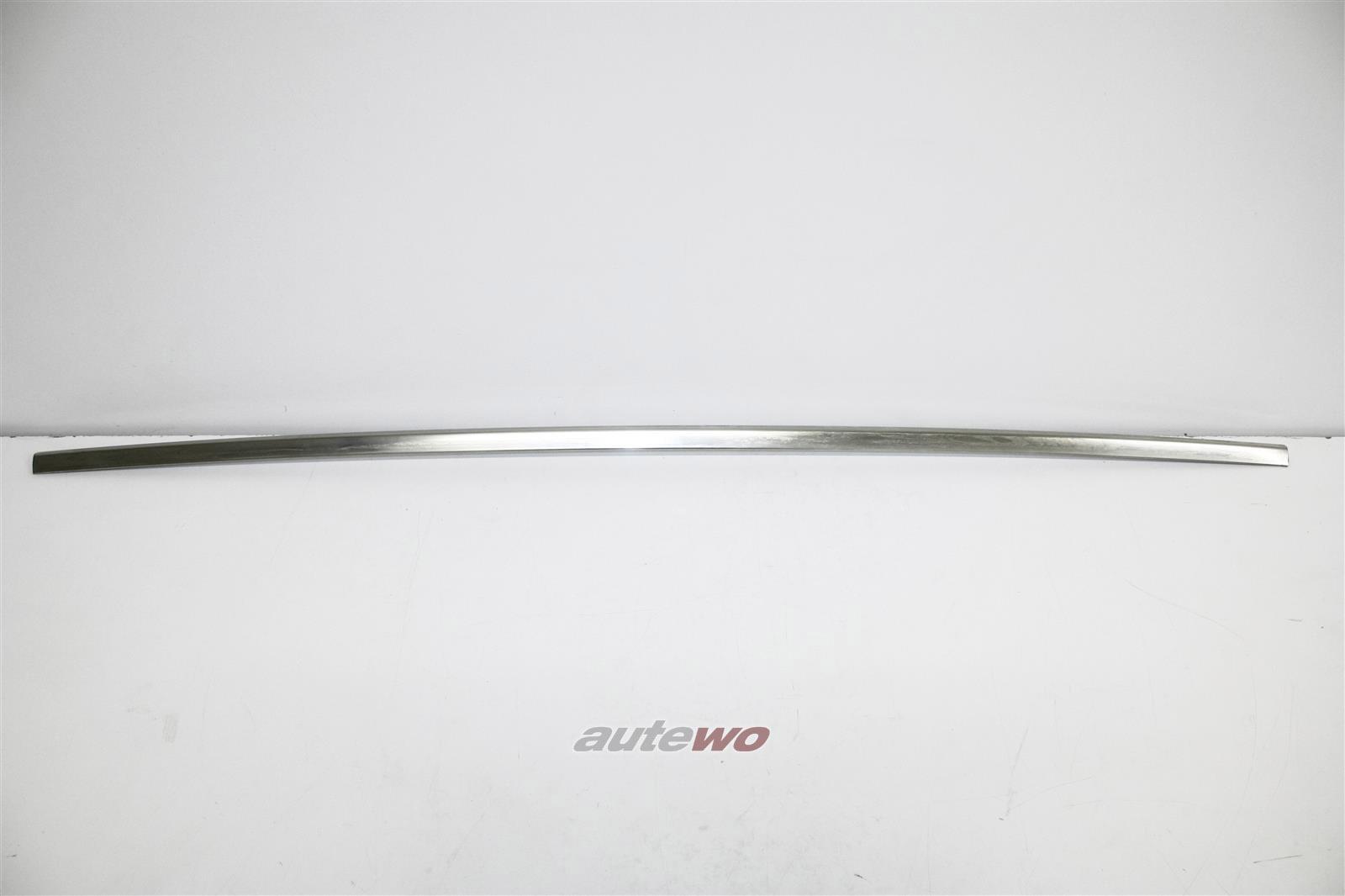 811853941 NEU Audi 80 Typ 81 Limousine Chrom-Zierleiste Heckstoßstange Mitte