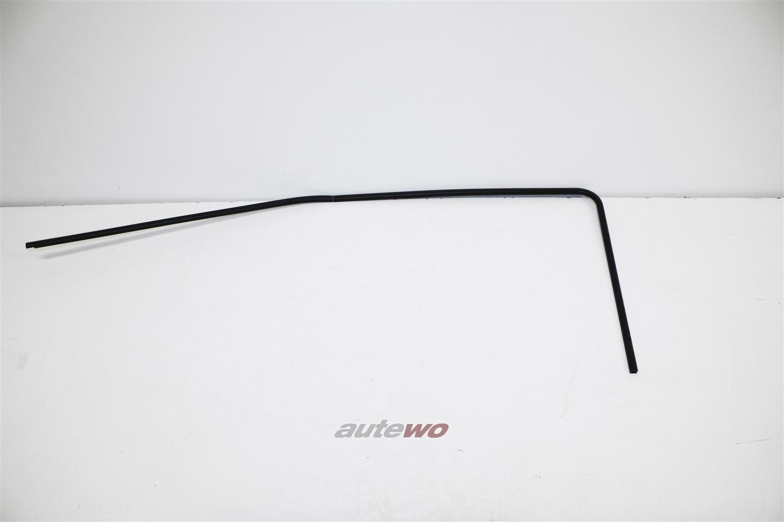 855837438 NEU Audi Coupe/Urquattro 81/85 Coupe Kantenschutz Fenster rechts negro