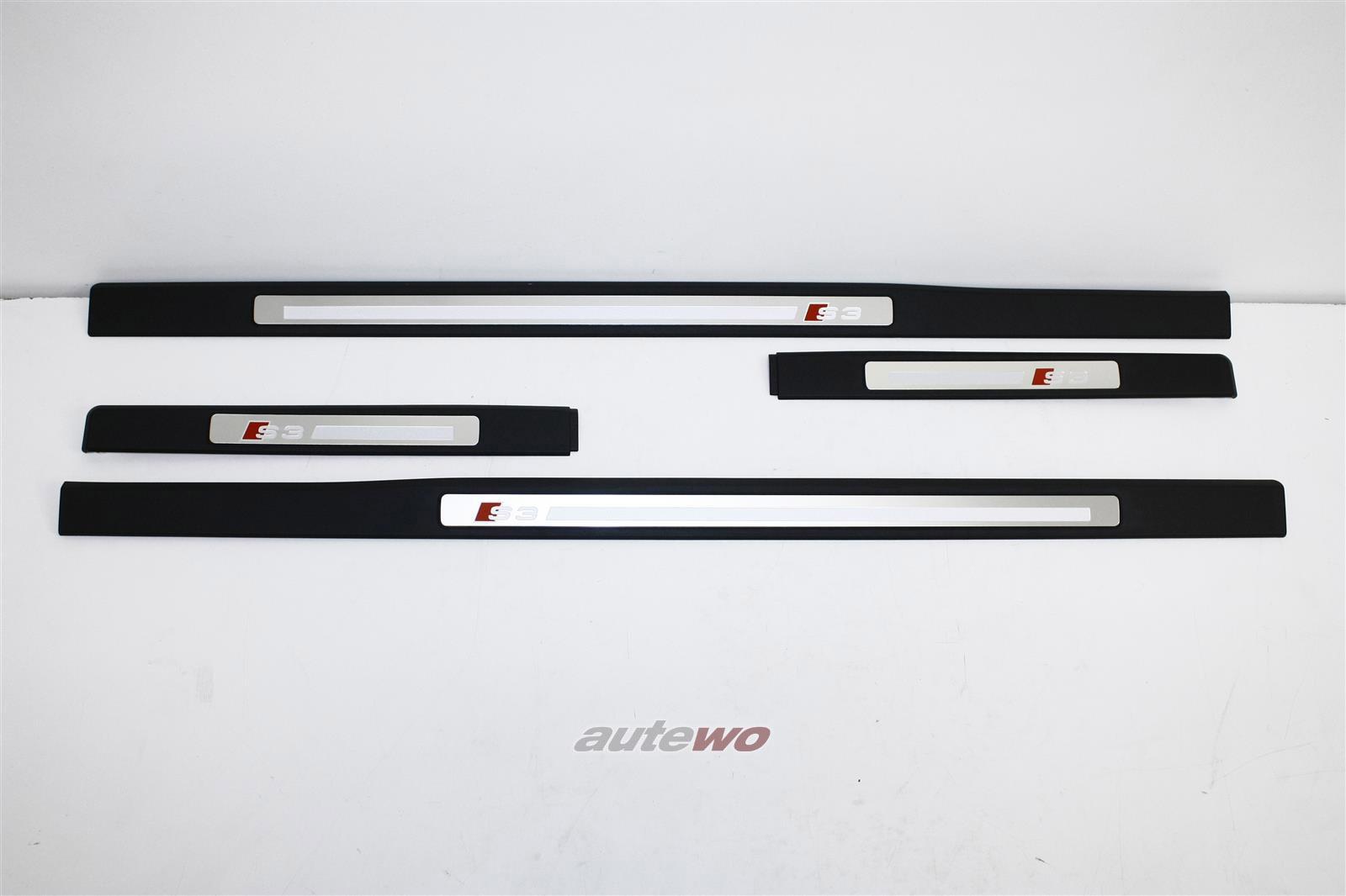 8P4853557J/558J & 8P4853491J/492J  NEU Audi S3 8P Sportback Einstiegleisten