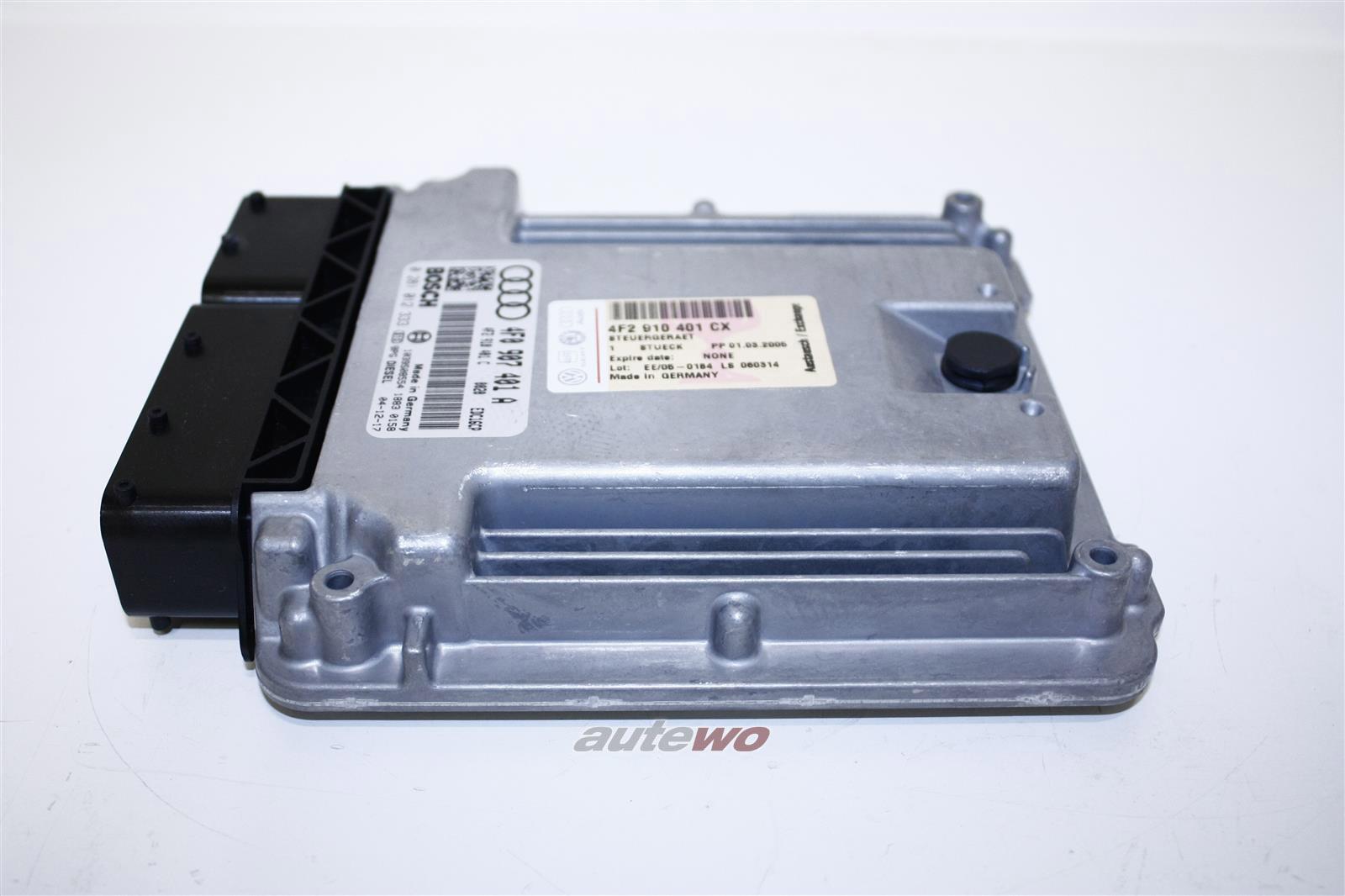 4F2910402DX 4F2910401CX NEU Audi A6 4F 2.7l 163PS 6 Zyl. BSG Motorsteuergerät