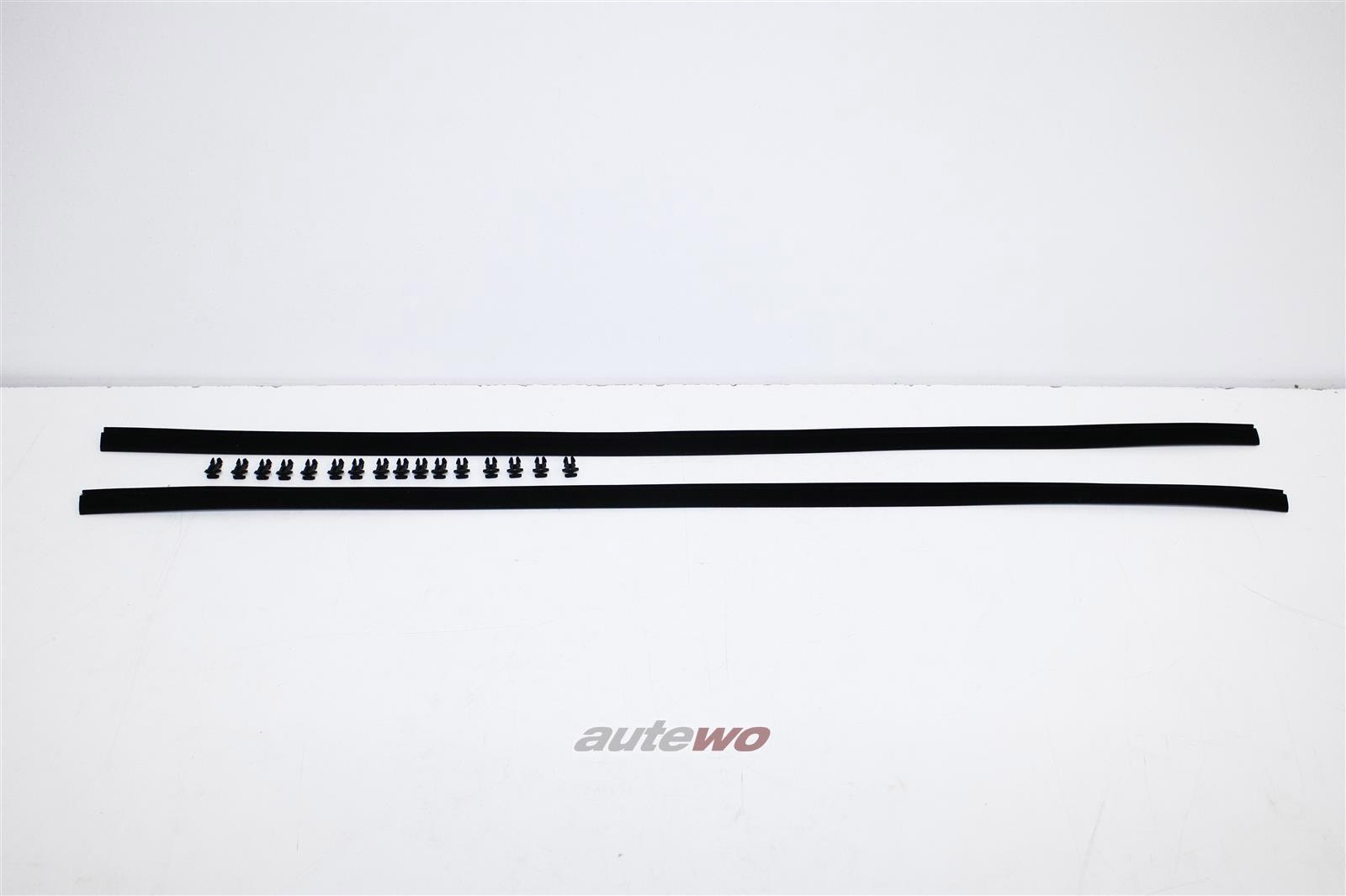 811837477B NEU Audi 80/90 81/85/SportQuattro 2x Fensterschachtabdichtung