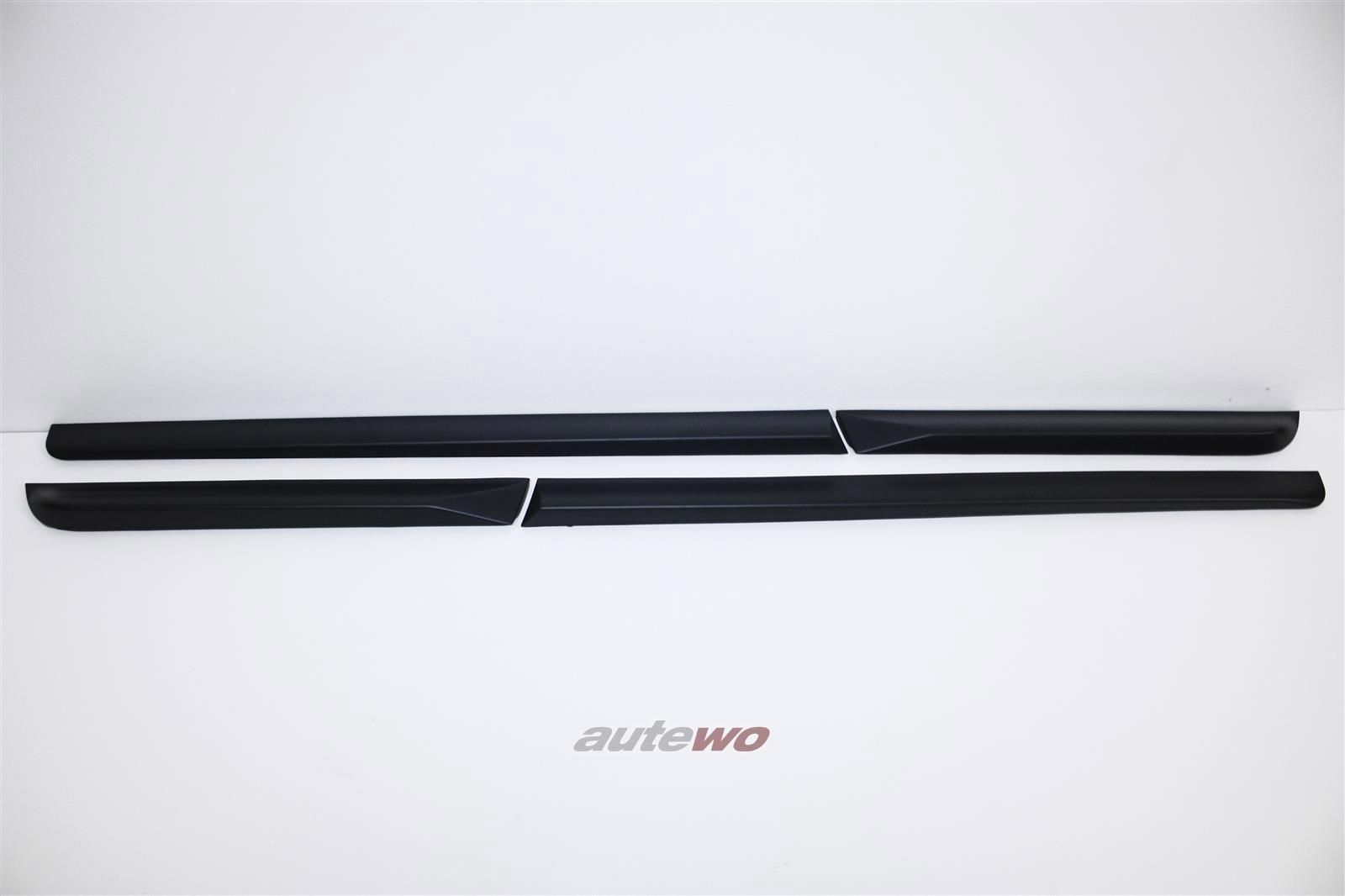 8E0853959A/60A/8E0853969A/70A  NEU Audi S4 8E Set Spaltabdeckungen komplett