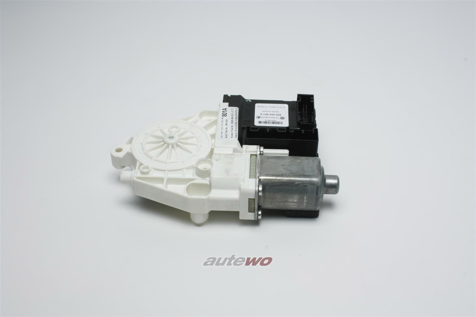 8P0959802L 8P0959802A NEU Audi A3 8P Fensterhebermotor Vorne Rechts