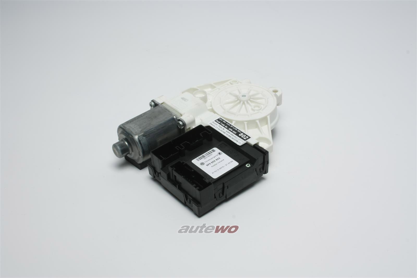8P0959802L 8P0959802 NEU Audi A3 8P Fensterhebermotor Vorne Rechts