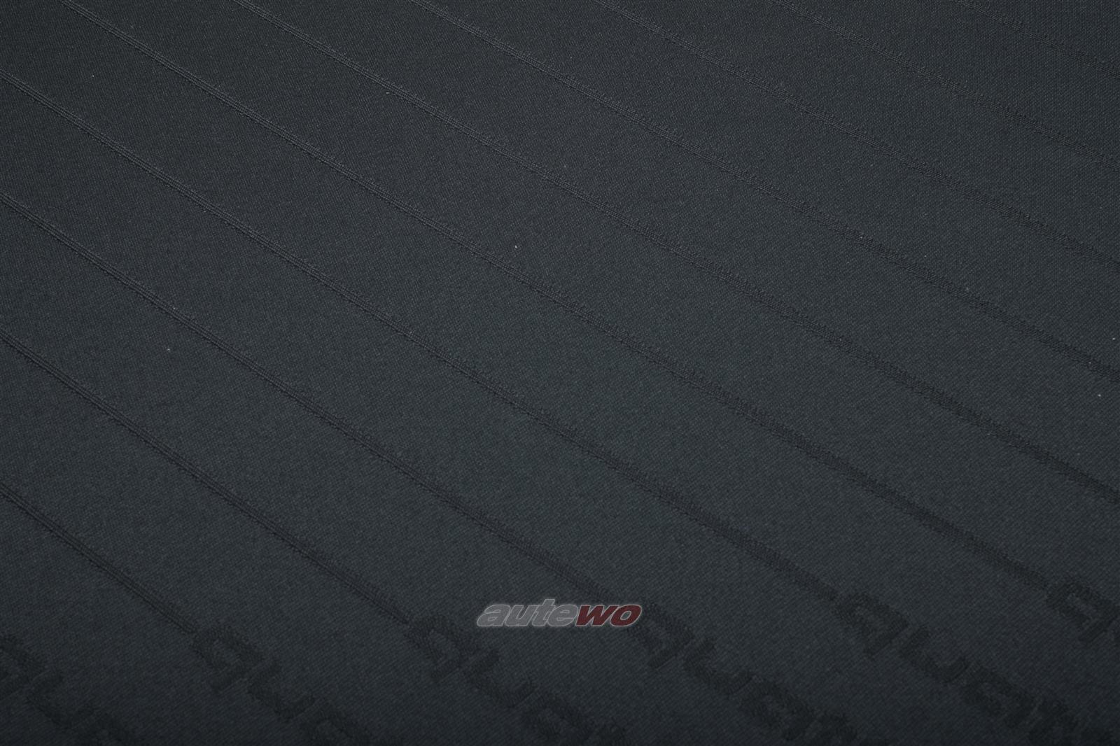 Audi 80/90/S2/Cabrio/Coupe 89/B4/100/200 44/C4 Jacquard Satin Stoff Quattro