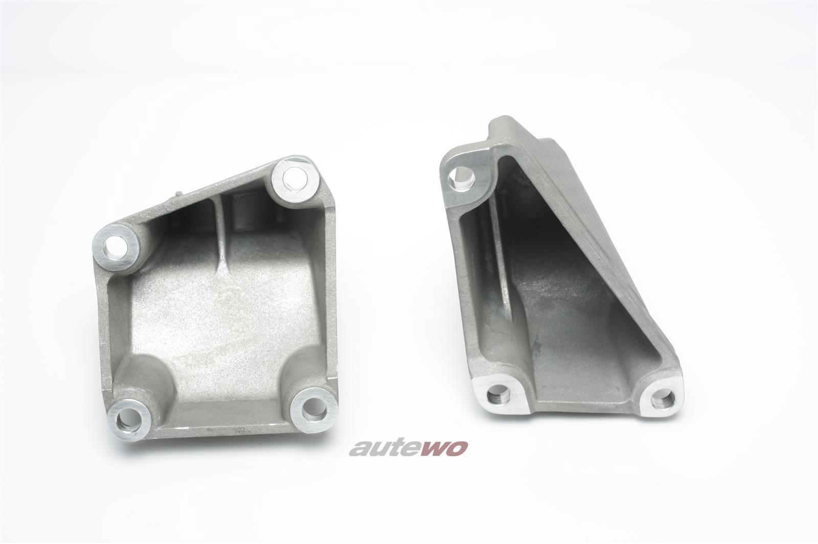8A0399113E & 8A0399114E NEU Audi S2 89/B4/RS2 2.2l Getriebehalter-Paar 6-Gang