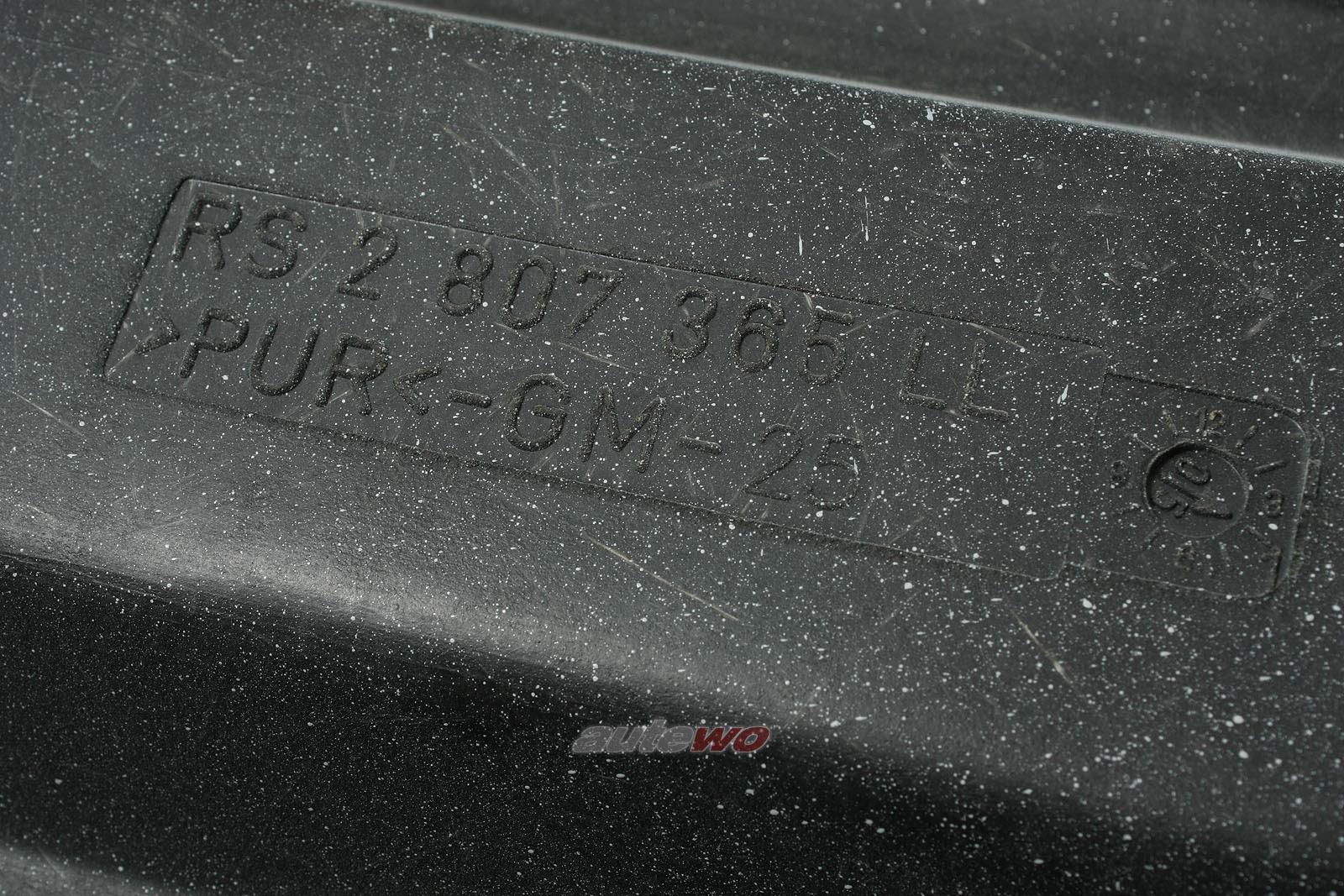 8A0807305LL NEU Audi RS2 original Stoßstange hinten