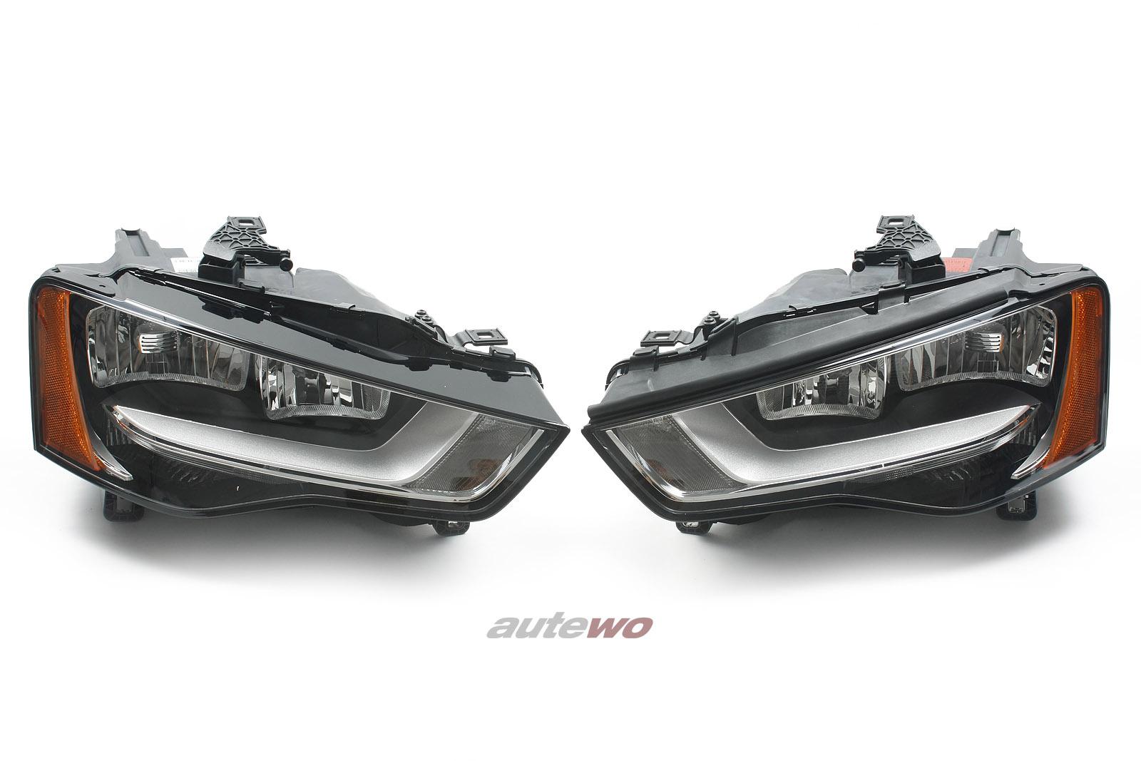 8T0941003AT & 8T0941004AT NEU Audi A5 8T Halogenscheinwerfer-Paar US