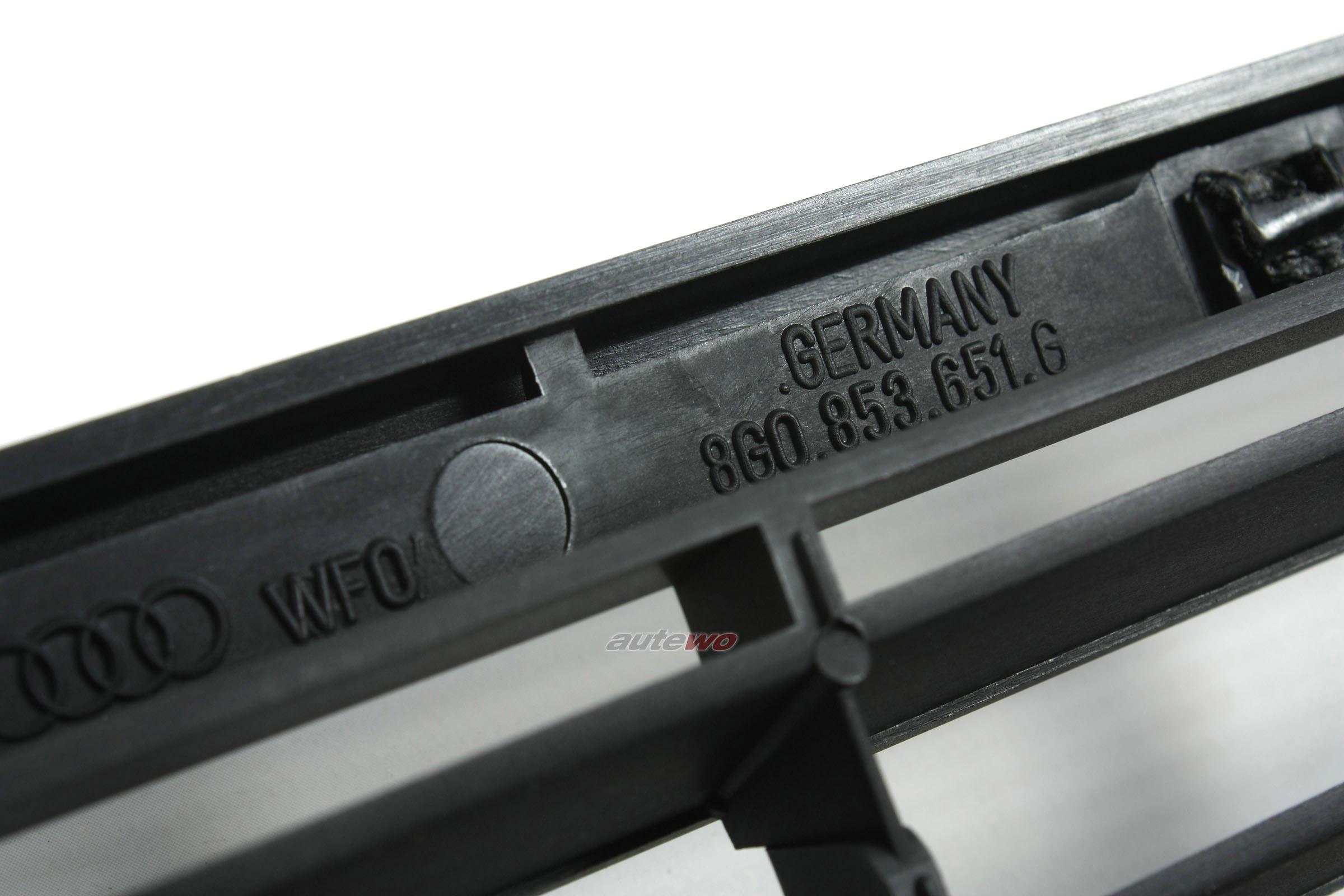8g0853651j neu audi 80 b4 s2 coupe cabrio 89 k hlergrill. Black Bedroom Furniture Sets. Home Design Ideas