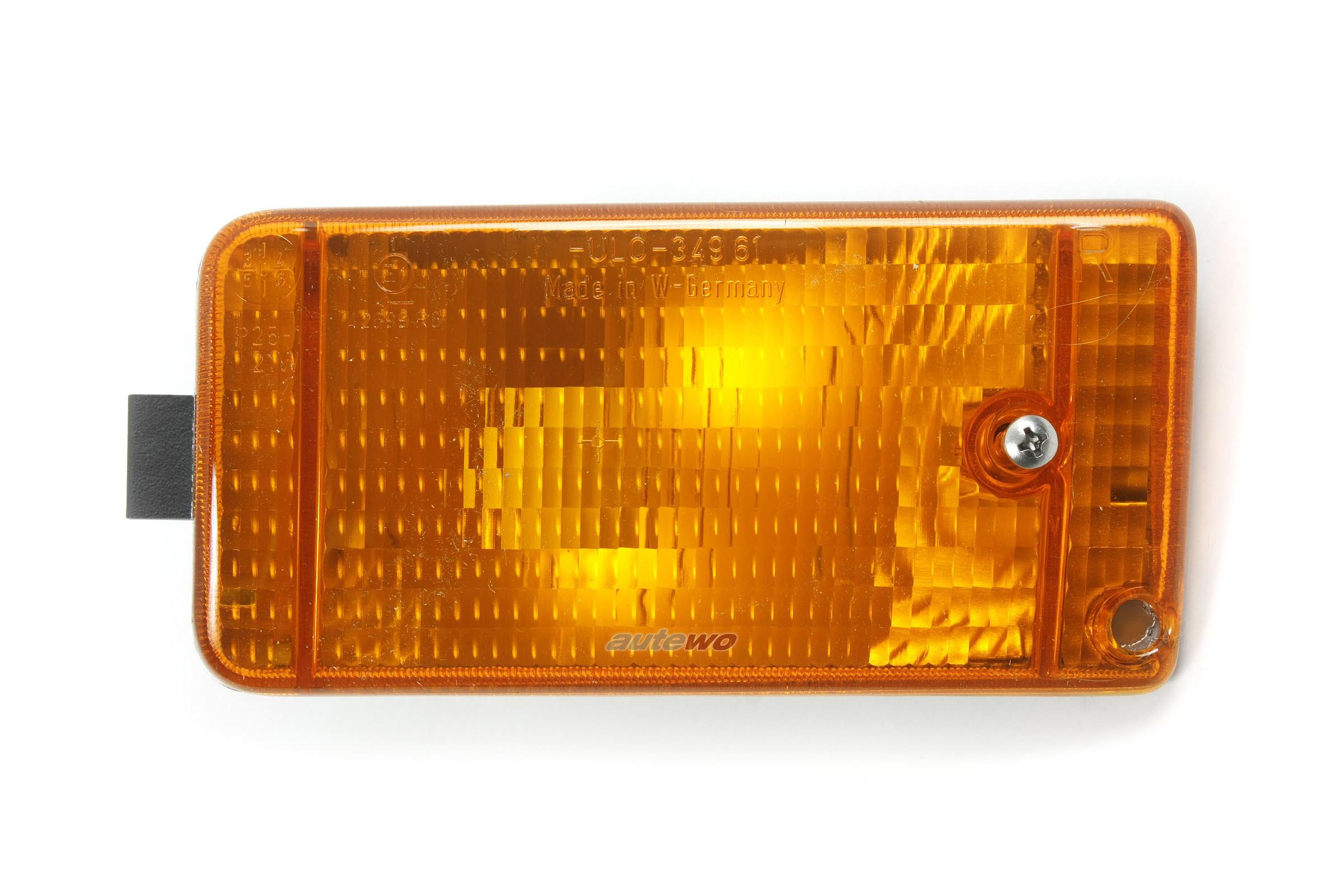 811953056 NEU Audi 90/Coupe Typ 81/85 Blinker Vorne Rechts gelb