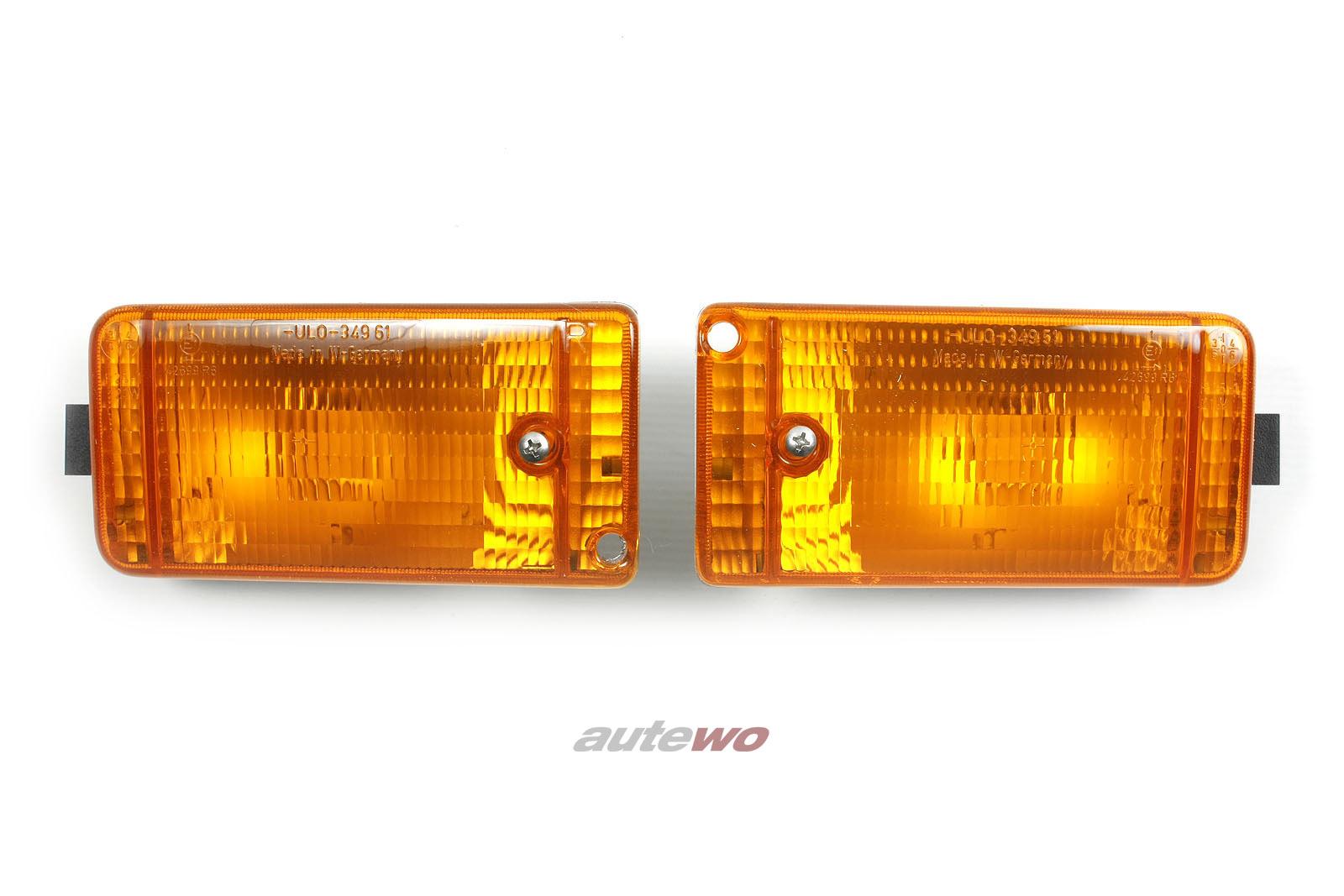 811953055 & 811953056 NEU Audi 90/Coupe 81/85 Blinker-Paar Vorne