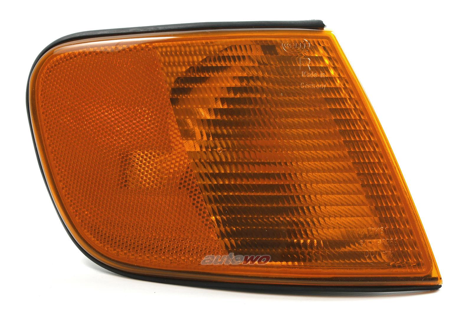4A0953050C NEU Audi 100 C4 US-Blinker mit Sidemarker Vorne Rechts orange