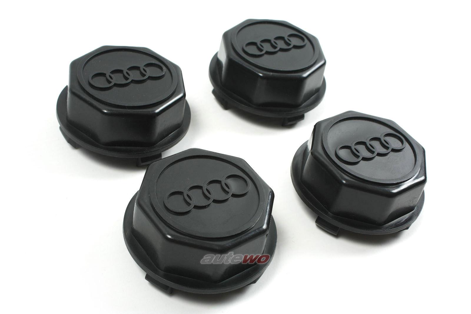 841601165  NEU Audi 80/90 81/85/100/200 43/44/Urquattro Set Felgendeckel