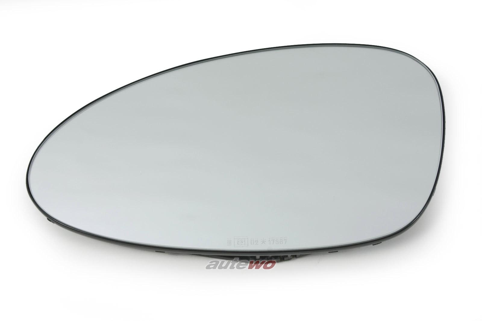 8A0857535 NEU Audi RS2 P1 2.2l Spiegelglas elektrisch beheizbar Links
