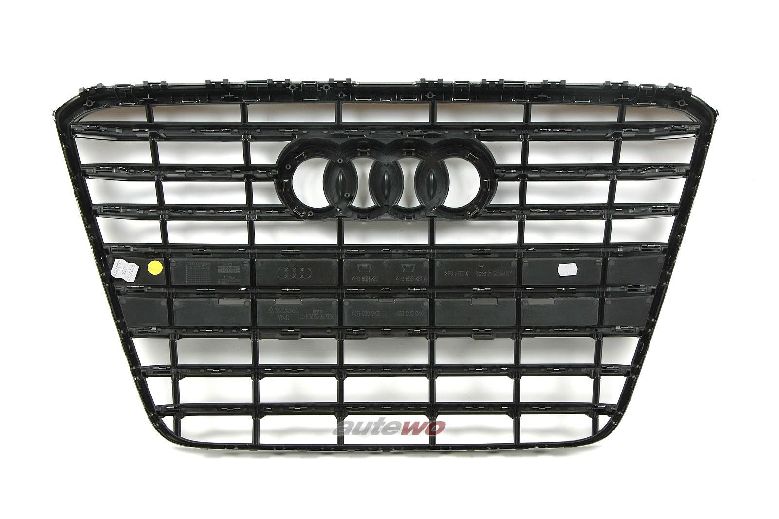 4H0853651G NEU Audi A8 D4/4H Kühlergrill schwarz glänzend