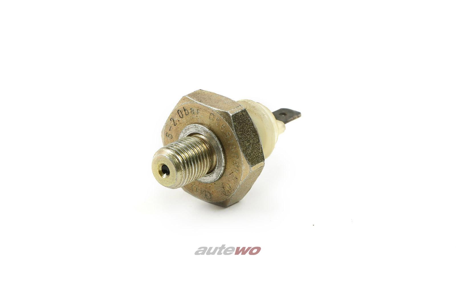 056919081E NEU Audi/VW 80/90 81/100/200 44/C4/V8 D11 Öldruckschalter