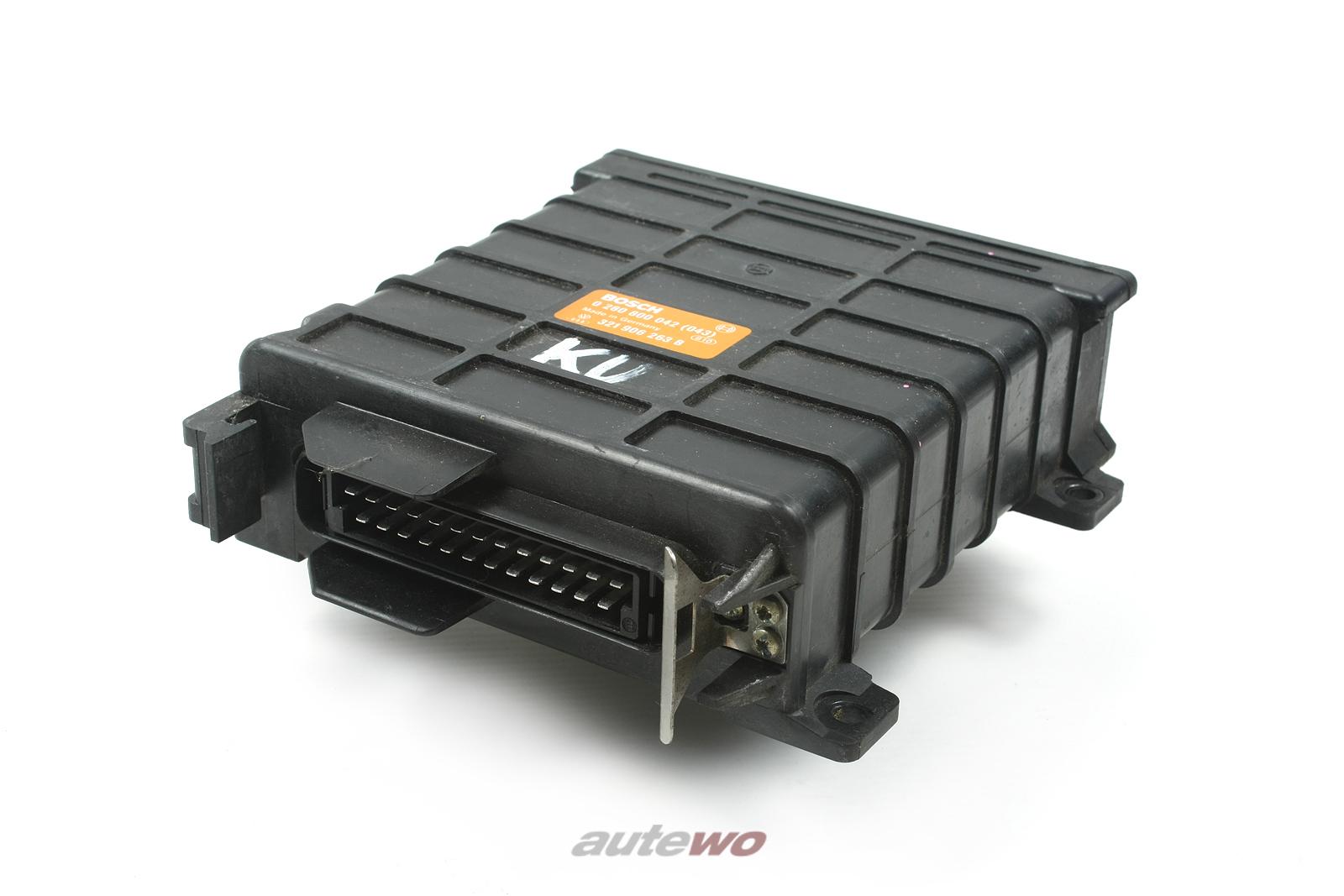 321906263B 0280800042(043) Audi/VW 100 44 2.2l Motorsteuergerät