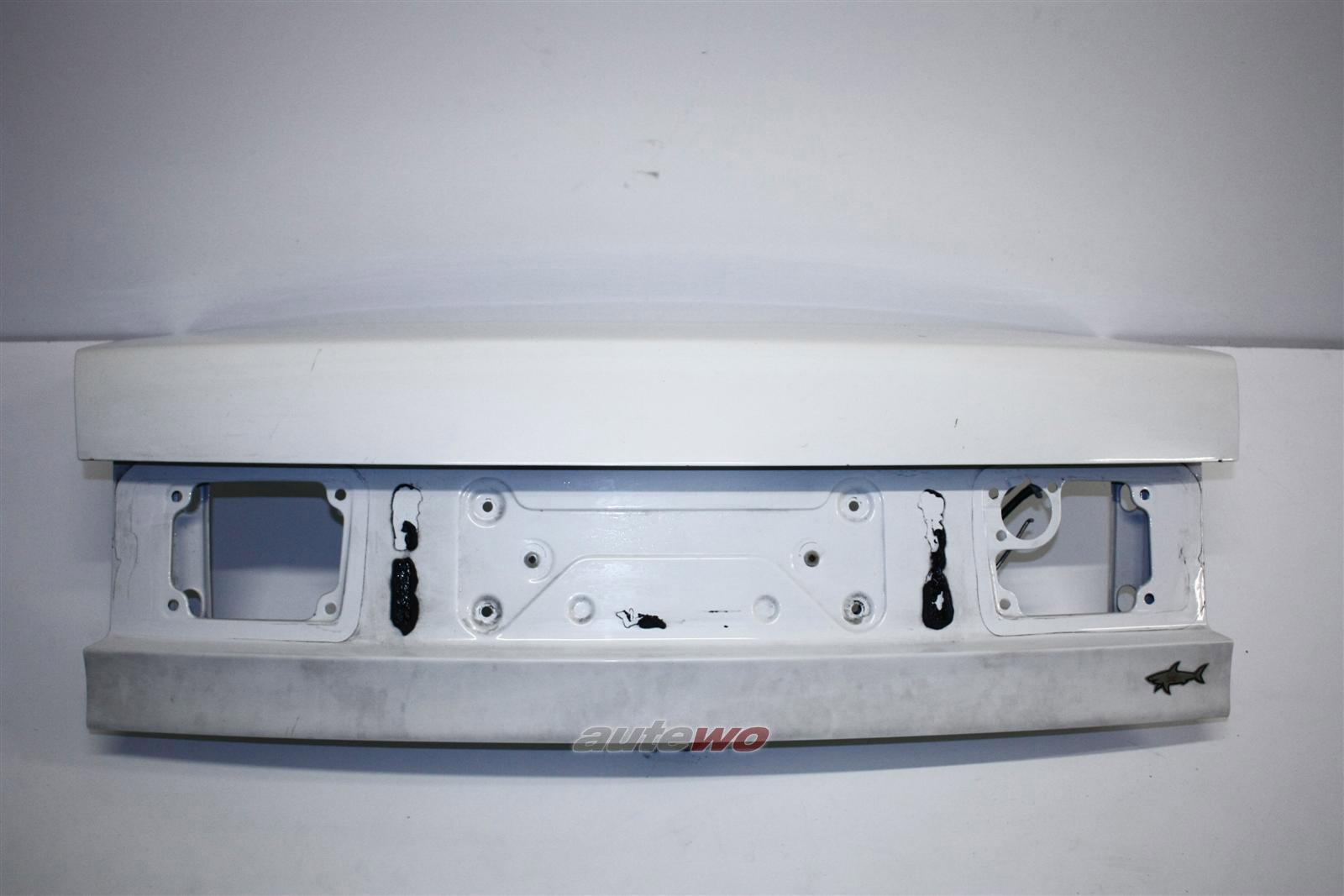 Audi 80 B4 Limousine Heckklappe weiß L90E 8A5827023E