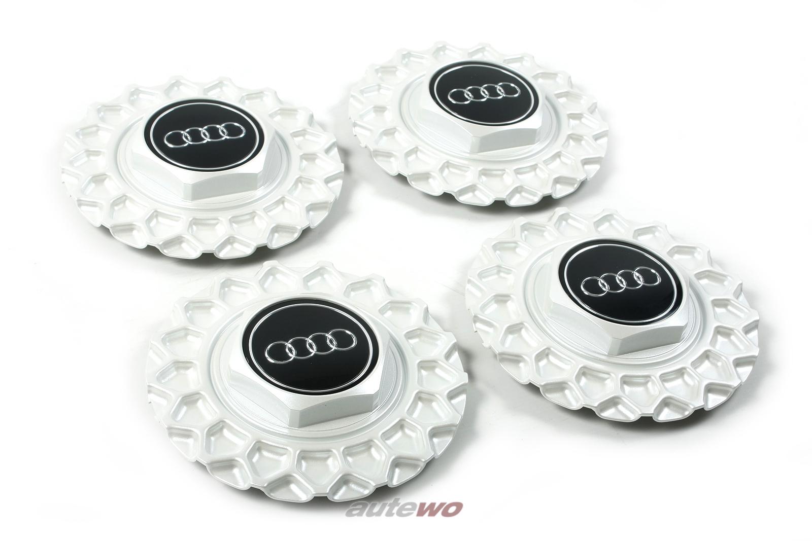 447601165B & 443601153 NEU Set Audi V8 D11 Nabendeckel BBS Kreuzspeichen-Felge
