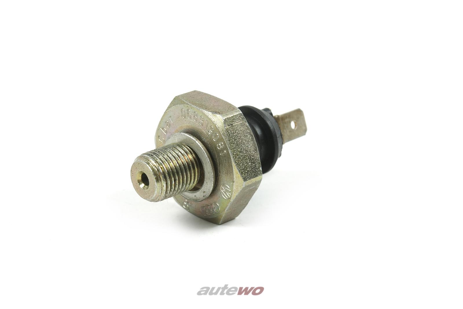 068919081D 068919081 NEU Audi/VW 80 Typ 89/100 Typ 44 Öldruckschalter