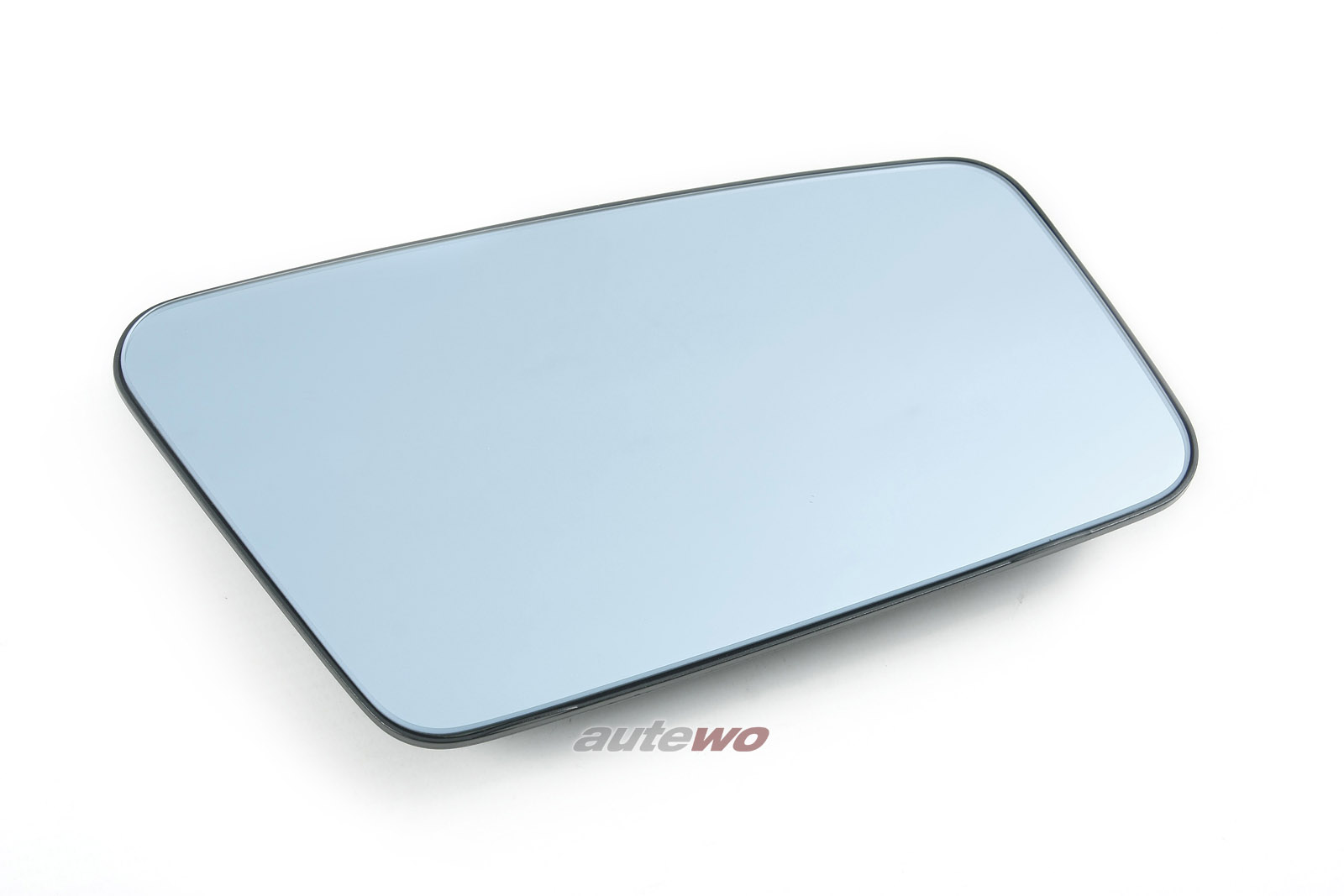 444857536N NEU Audi 100/200 Typ 44/V8 D11 Spiegelglas plan & beheizbar Rechts