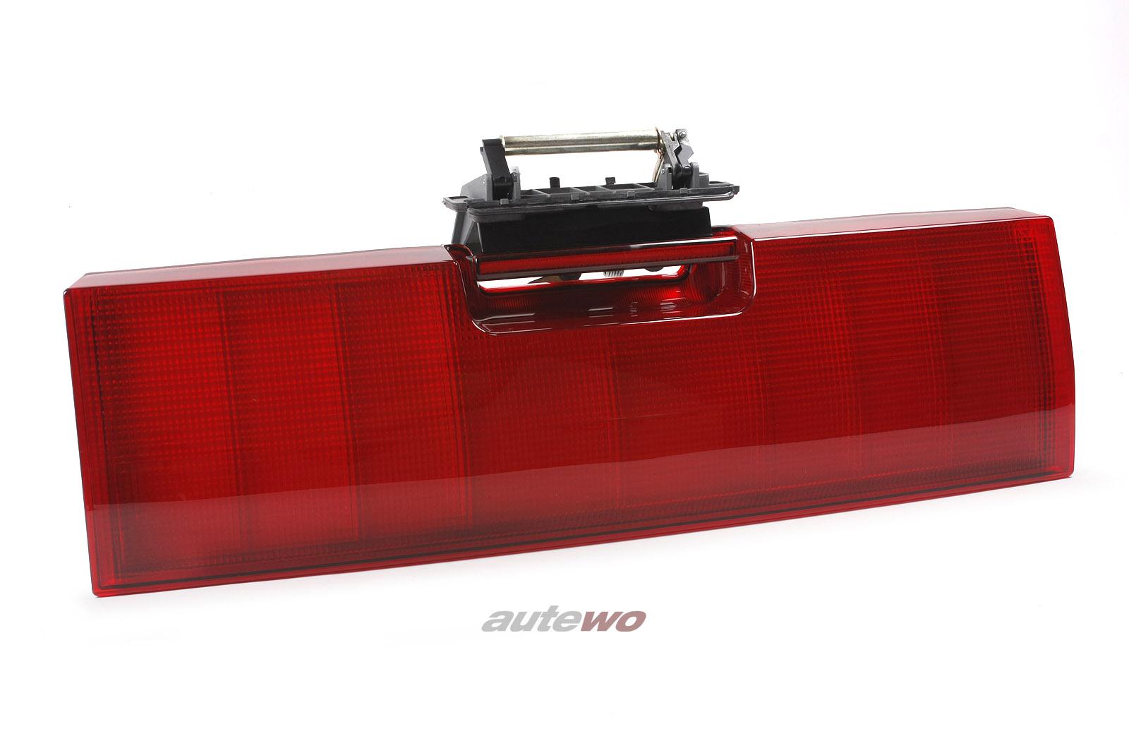 8A9853489B & 4A9827565E NEU Audi RS2 P1 Heckklappenblende mit Griff rot
