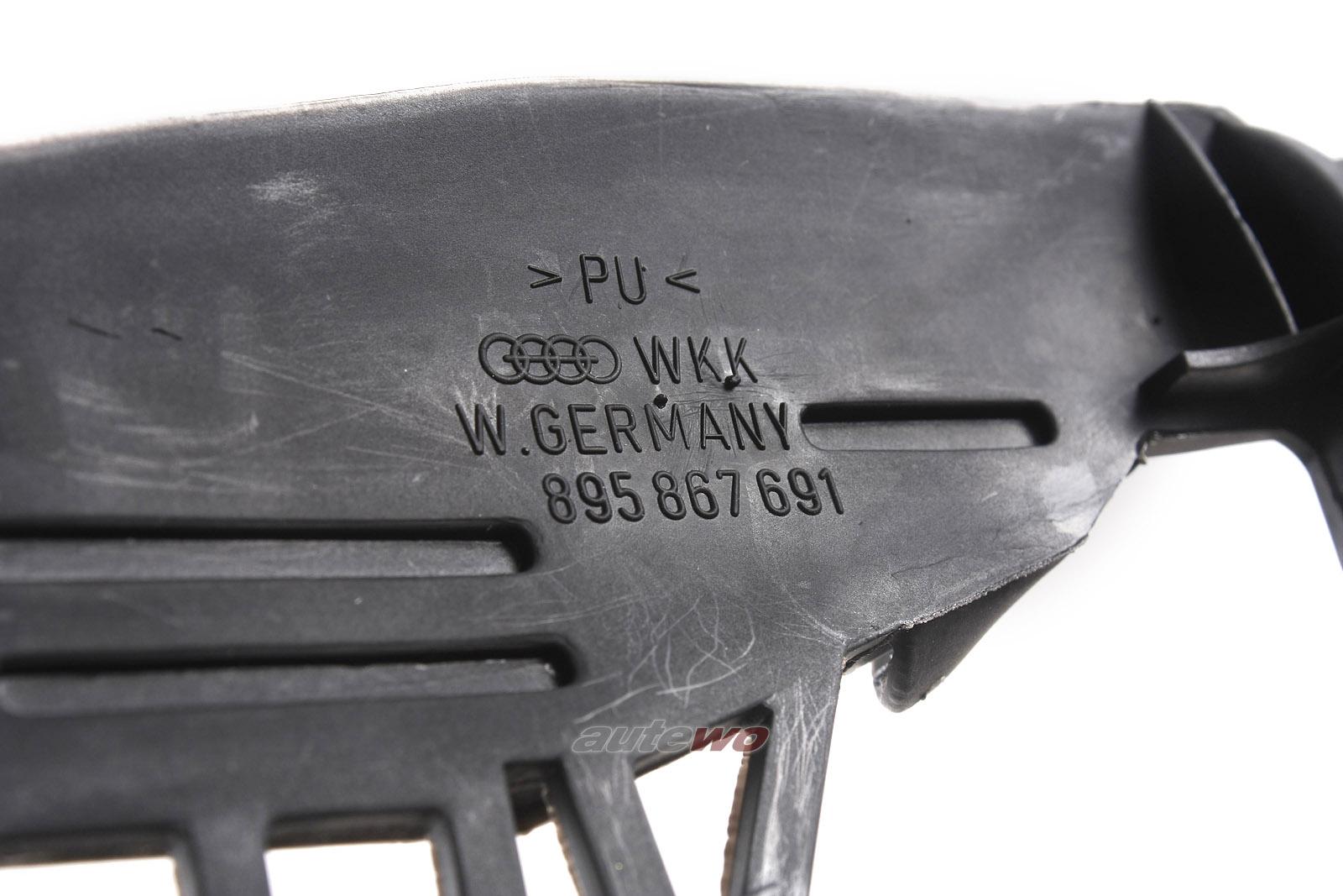 895867691 NEU Audi Coupe/Cabrio 89 Dichtungsstück Türverkleidung Vorne Links